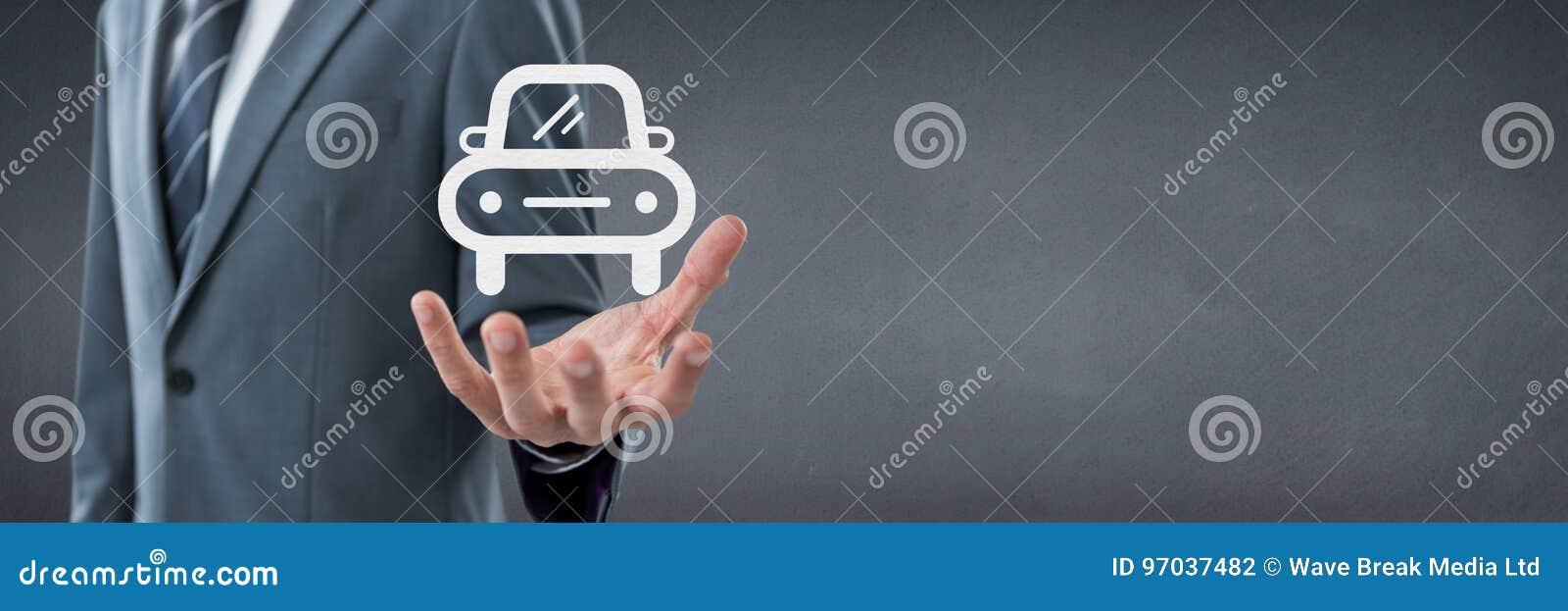 Räcka att rymma en bilsymbol som begrepp för bilförsäkring