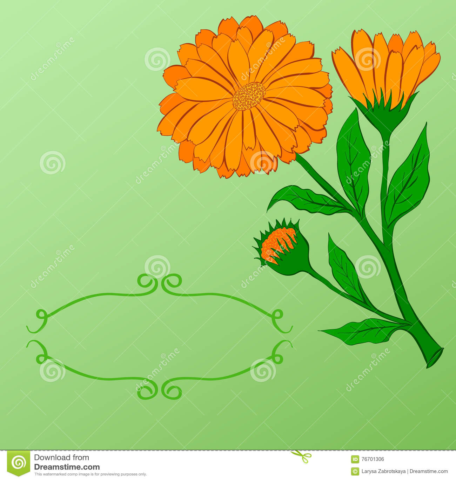 Räcka-dra blom- bakgrund