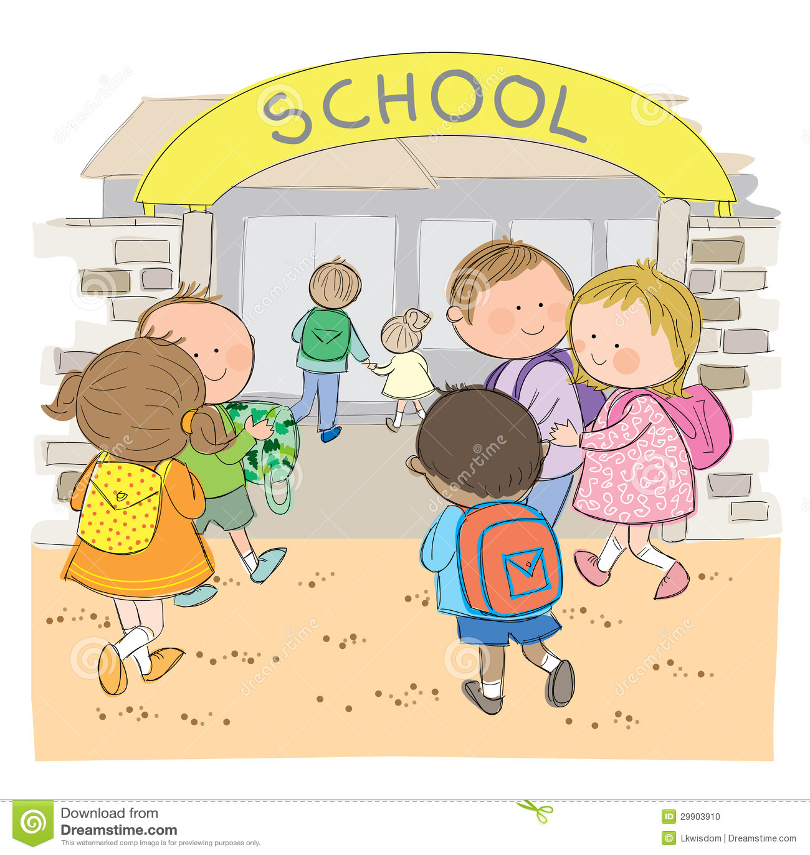 Dra tillbaka till skolar