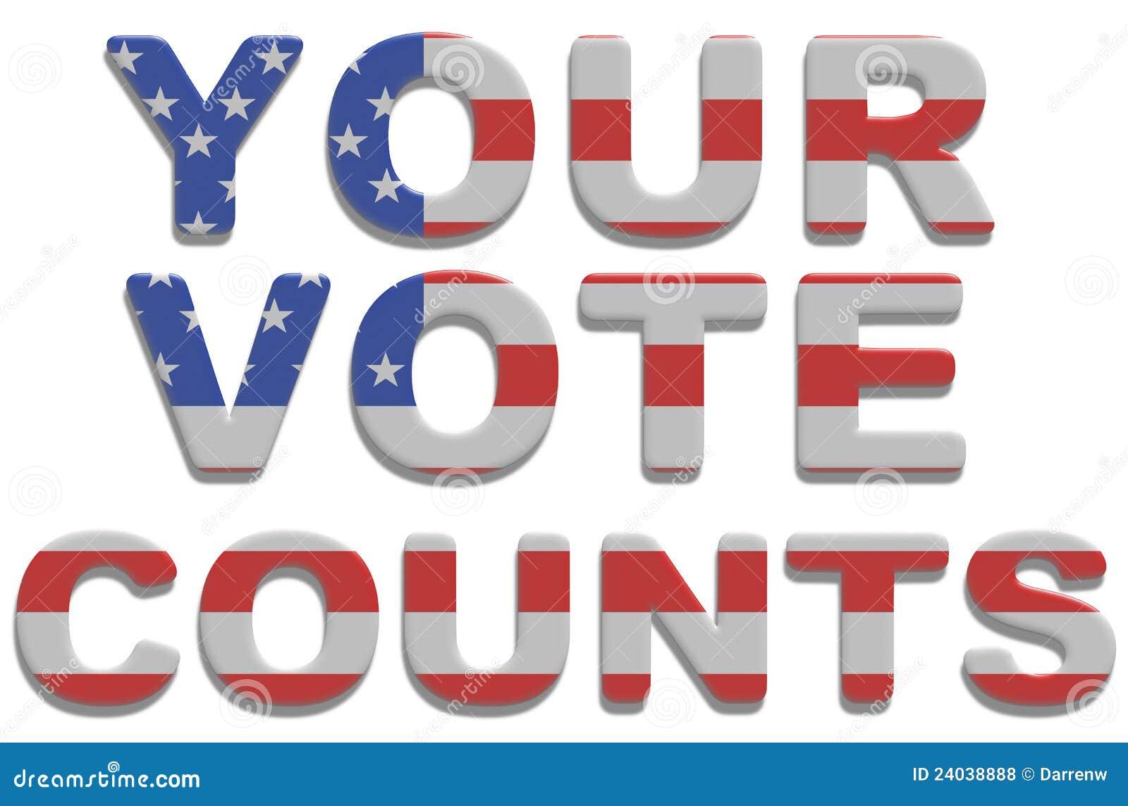 Räkningar röstar ditt