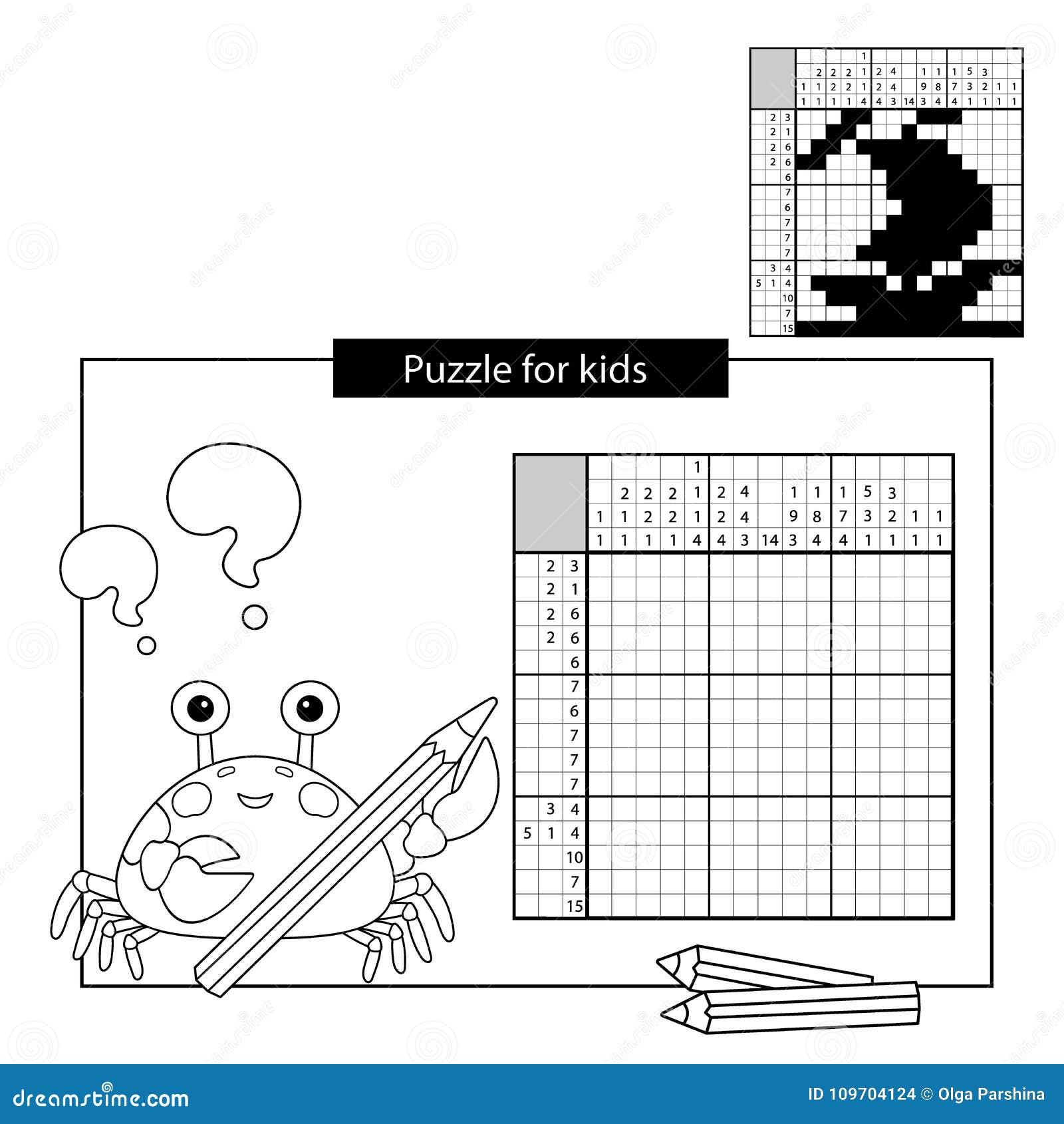 Rätselspiel Für Schulkinder Lieferung Japanisches Schwarzweiss ...