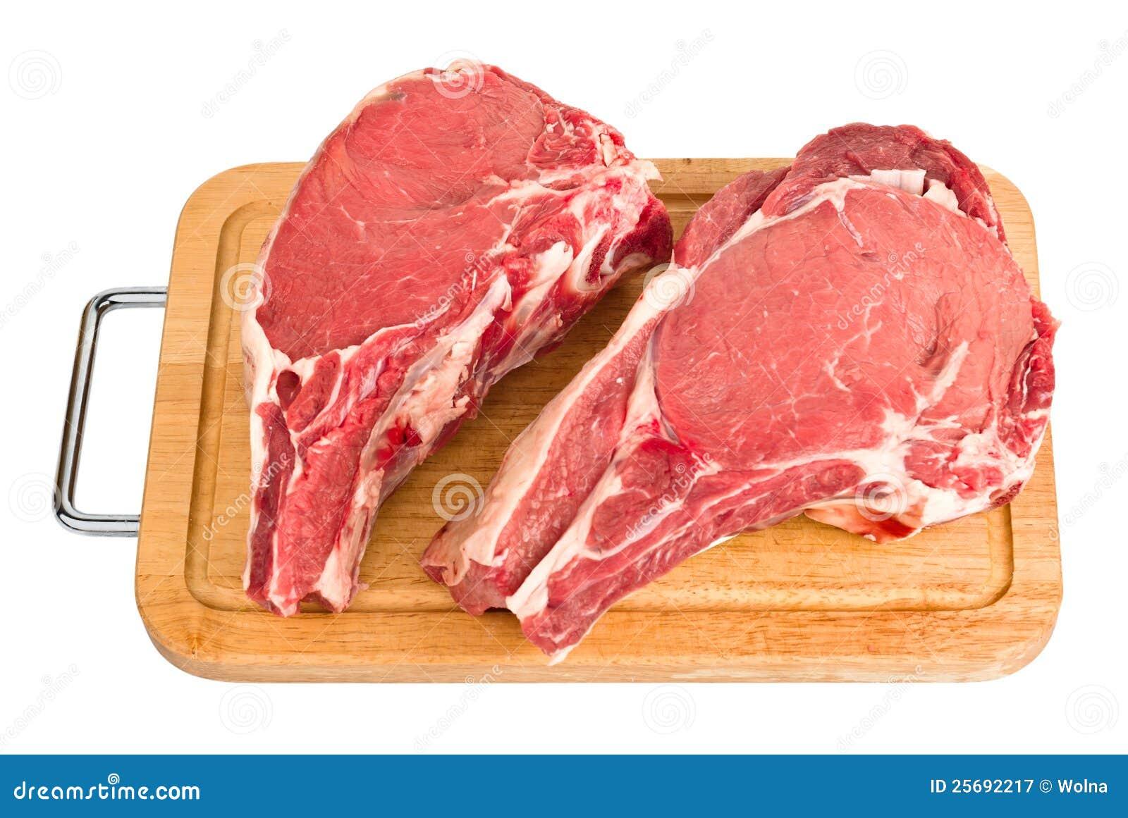 Rå isolerad meat