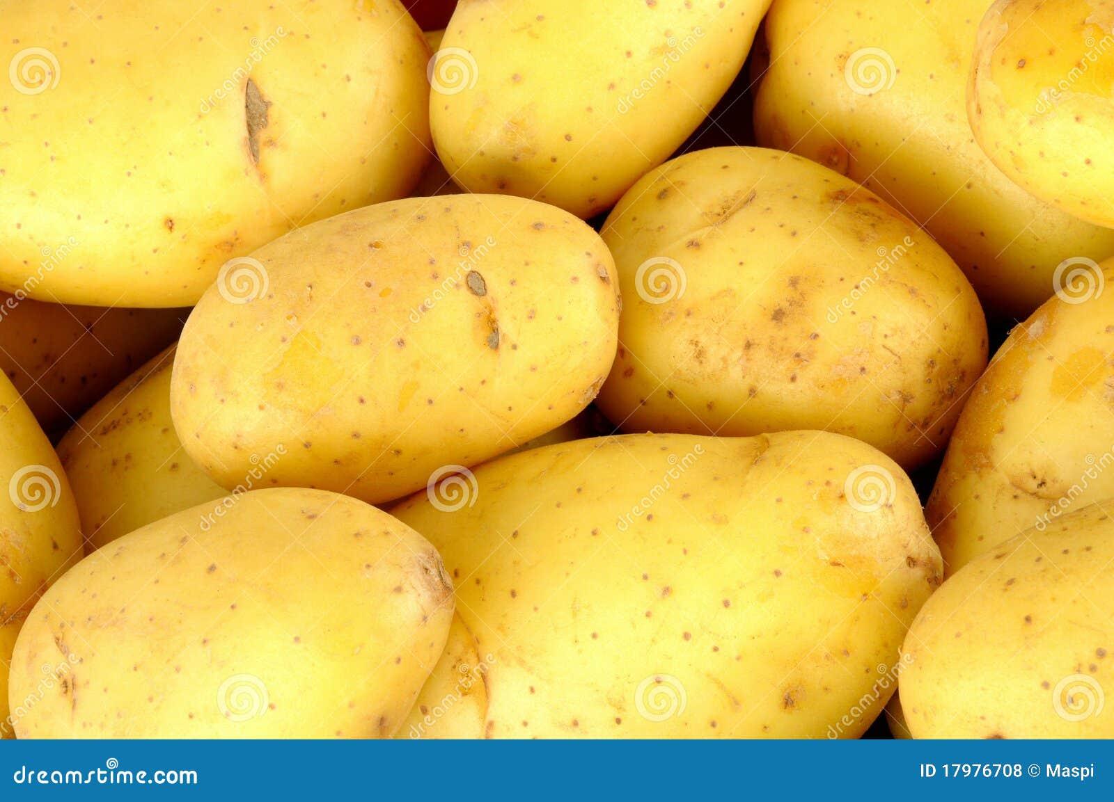 Rå potatisar