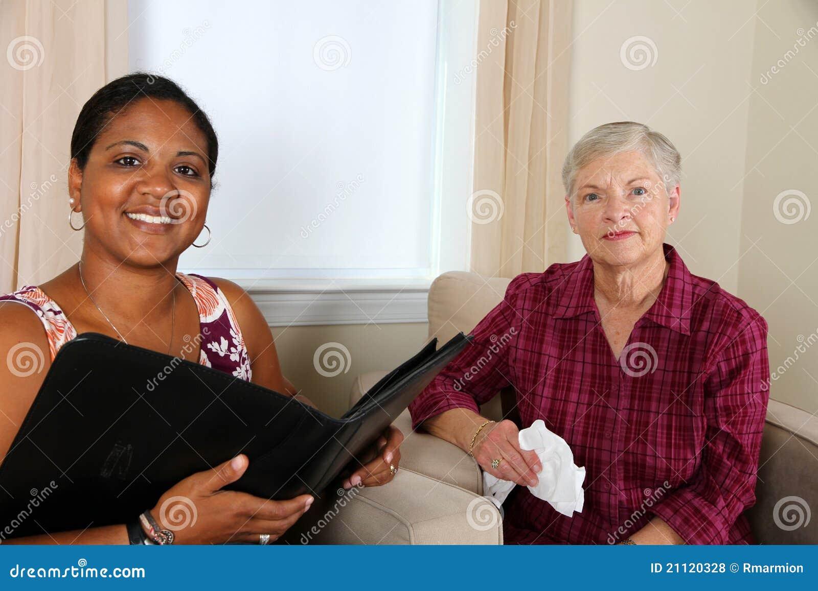 Rådgivning av kvinnan