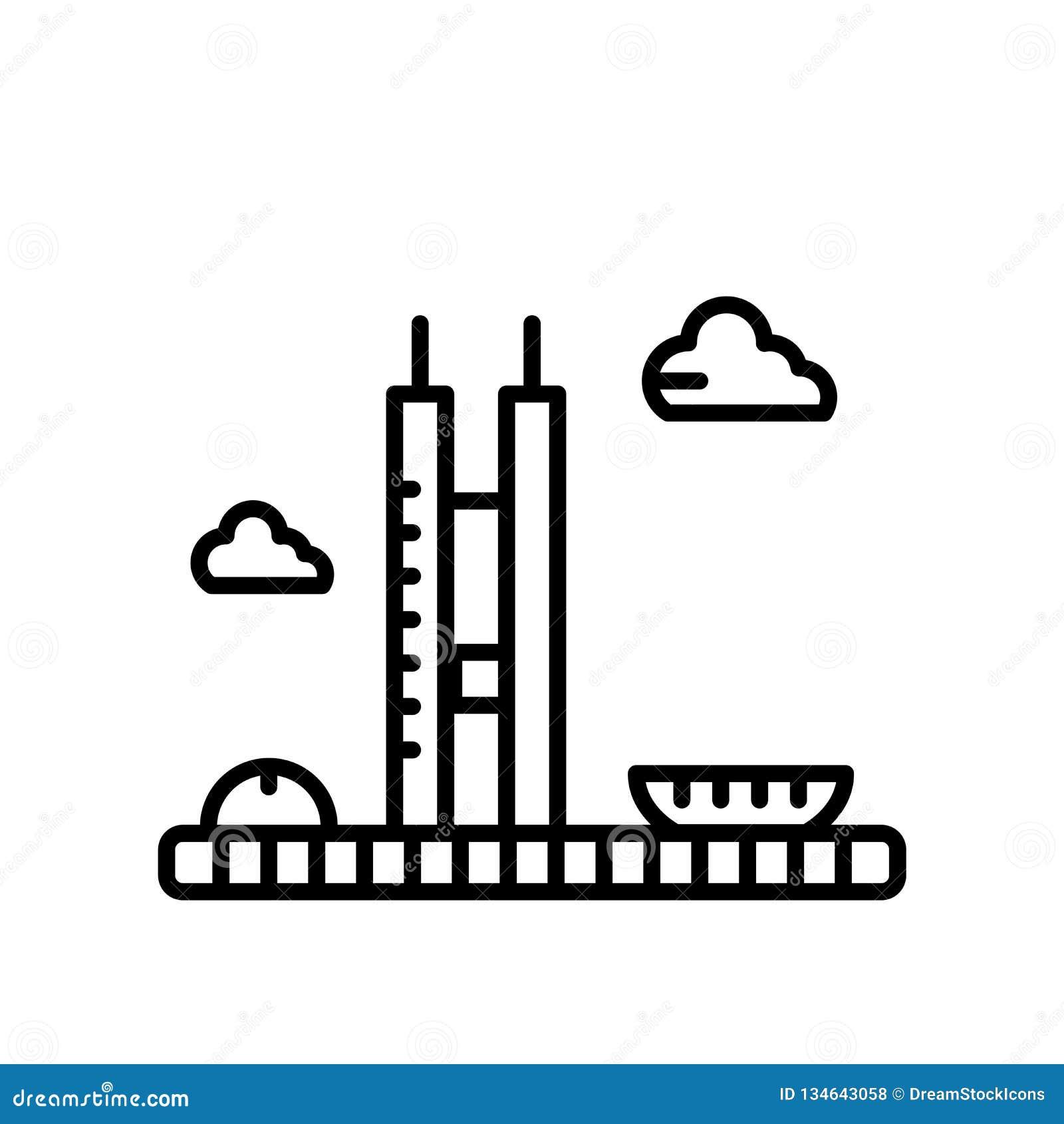 Rådsmöte av den Brasilien symbolsvektorn som isoleras på vit bakgrund, rådsmöte av det Brasilien tecknet, linje eller linjärt tec