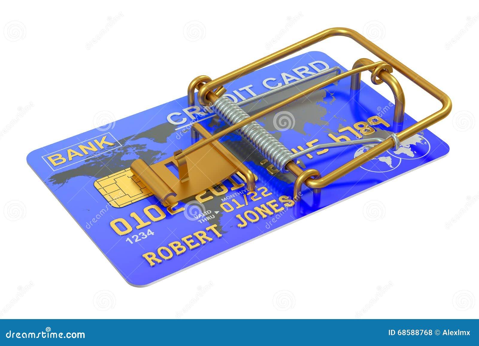 Råttfälla med kreditkorten