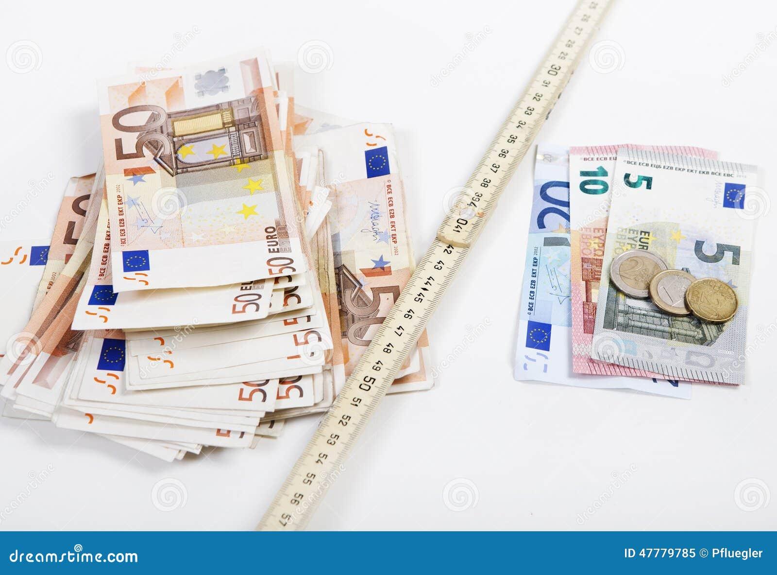 Règle de pliage d argent