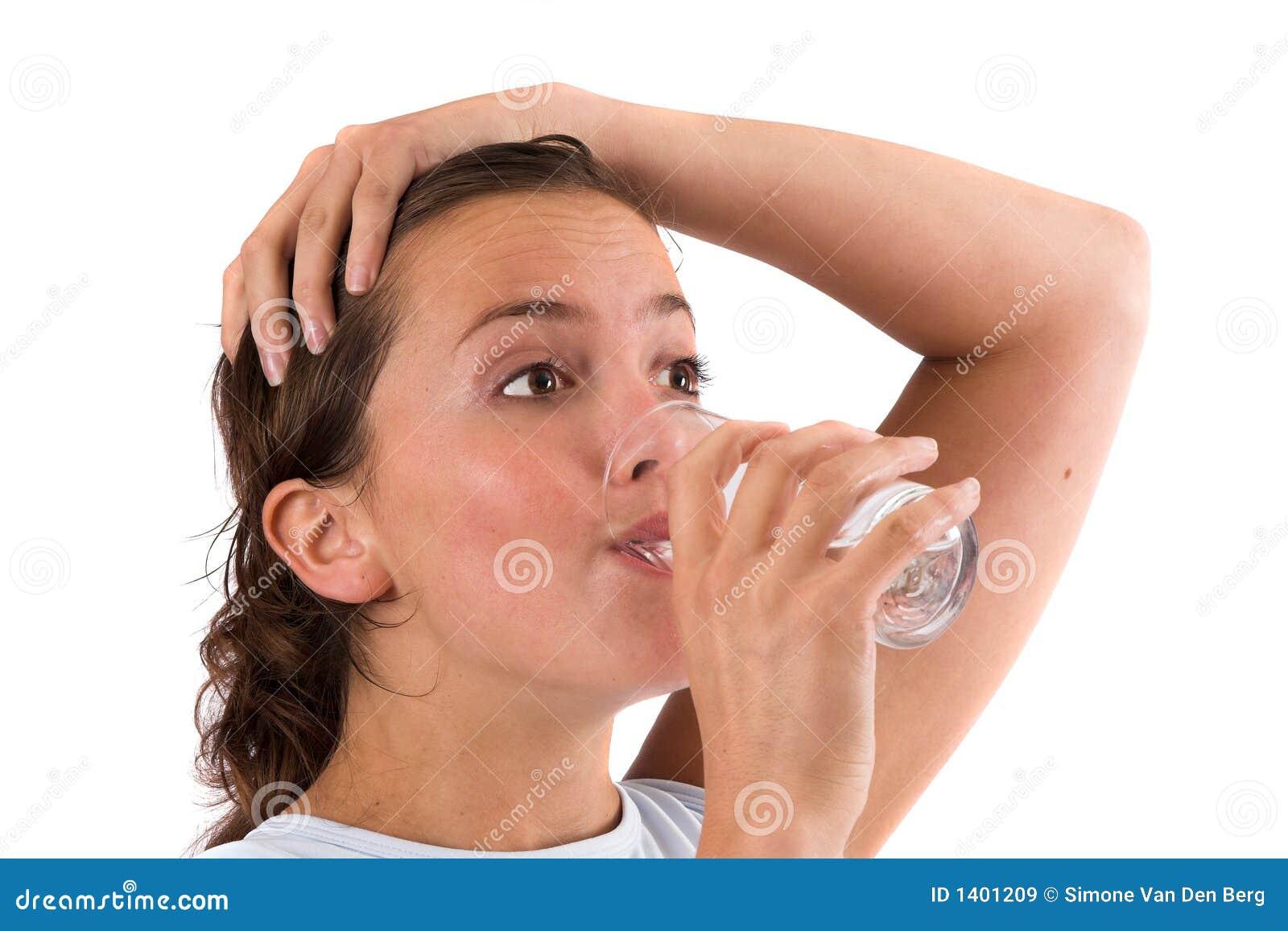 Réapprovisionnement des liquides après la séance d entraînement