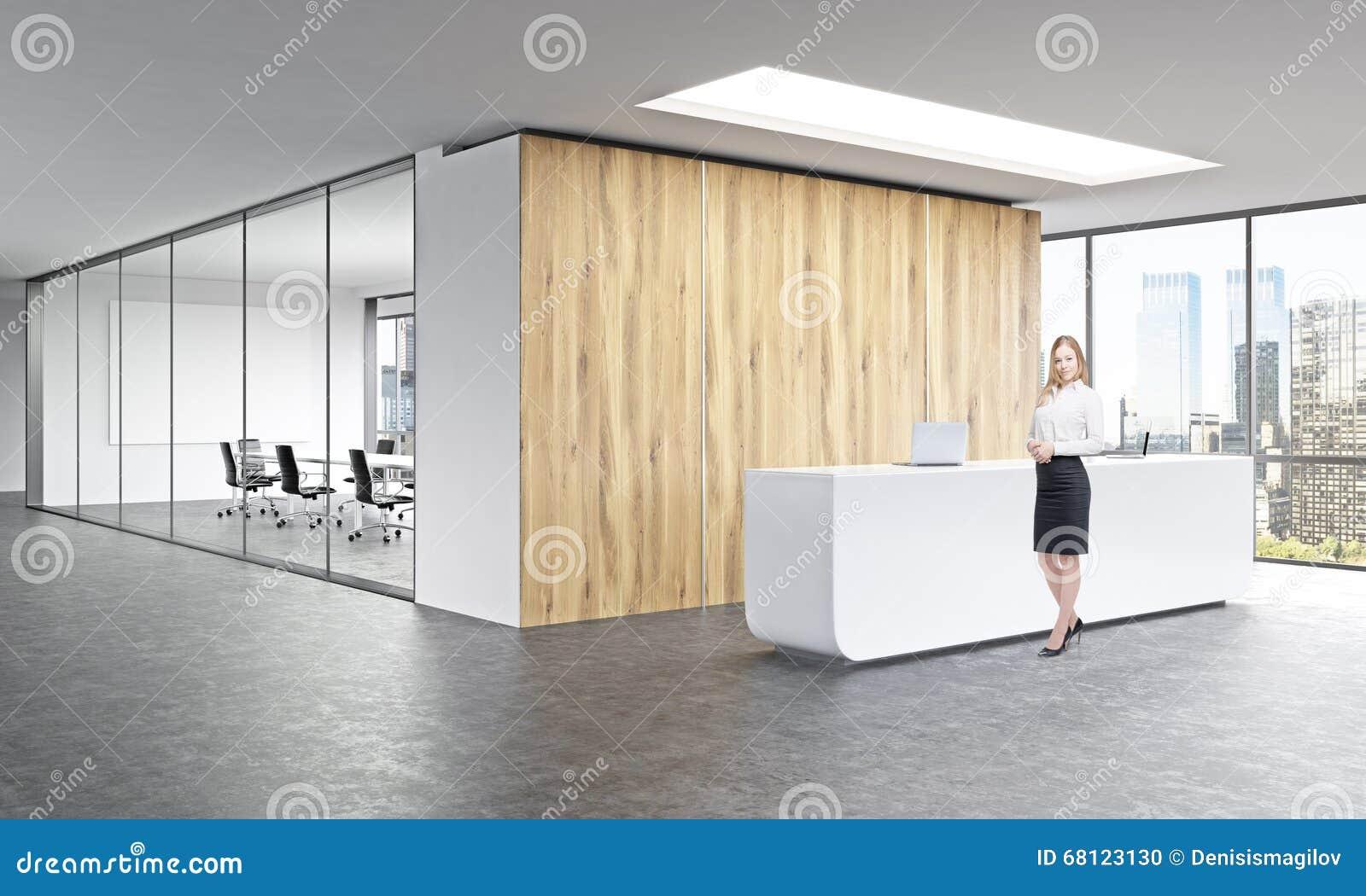 r ception de bureau illustration stock image du pr sidence 68123130. Black Bedroom Furniture Sets. Home Design Ideas
