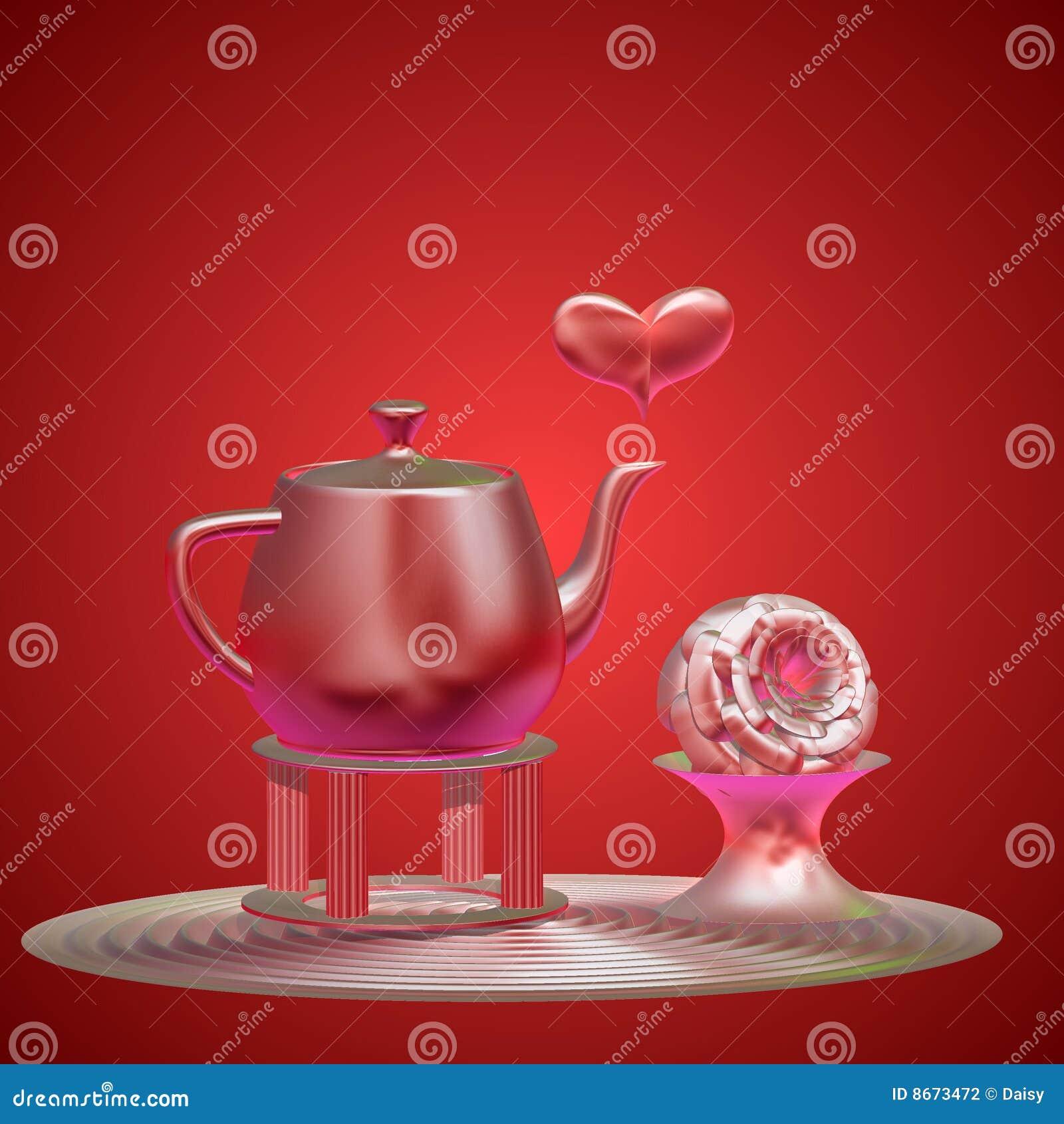 Réception de thé