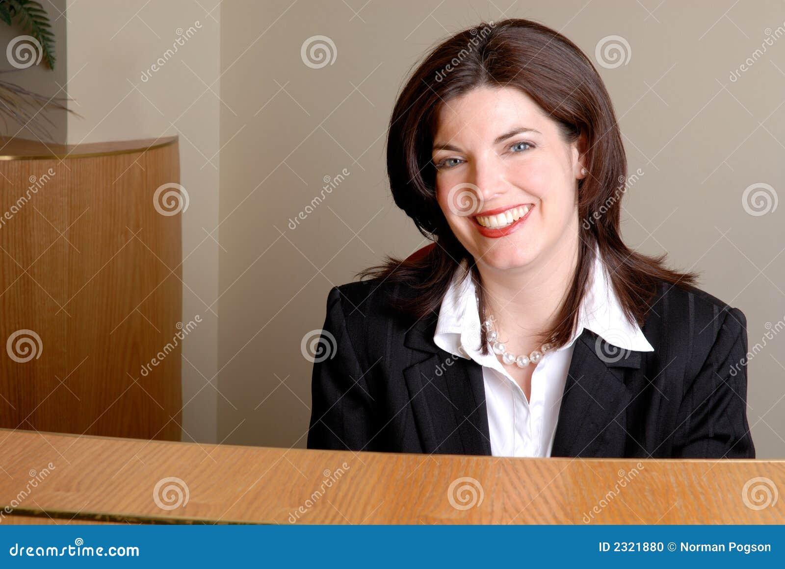 Réceptionniste