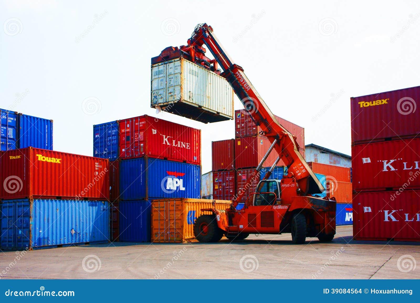 Récipient de cargaison, dépôt de fret du Vietnam