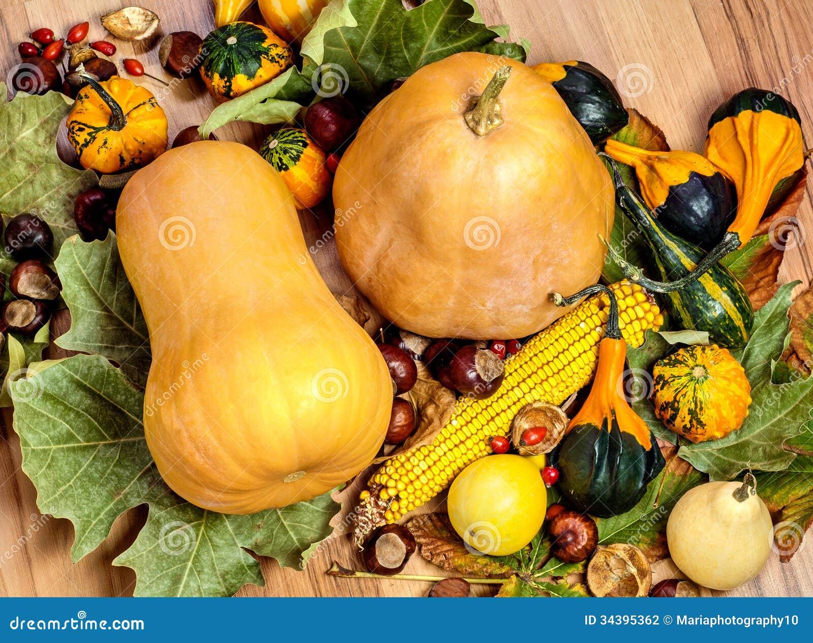 Récolte d automne