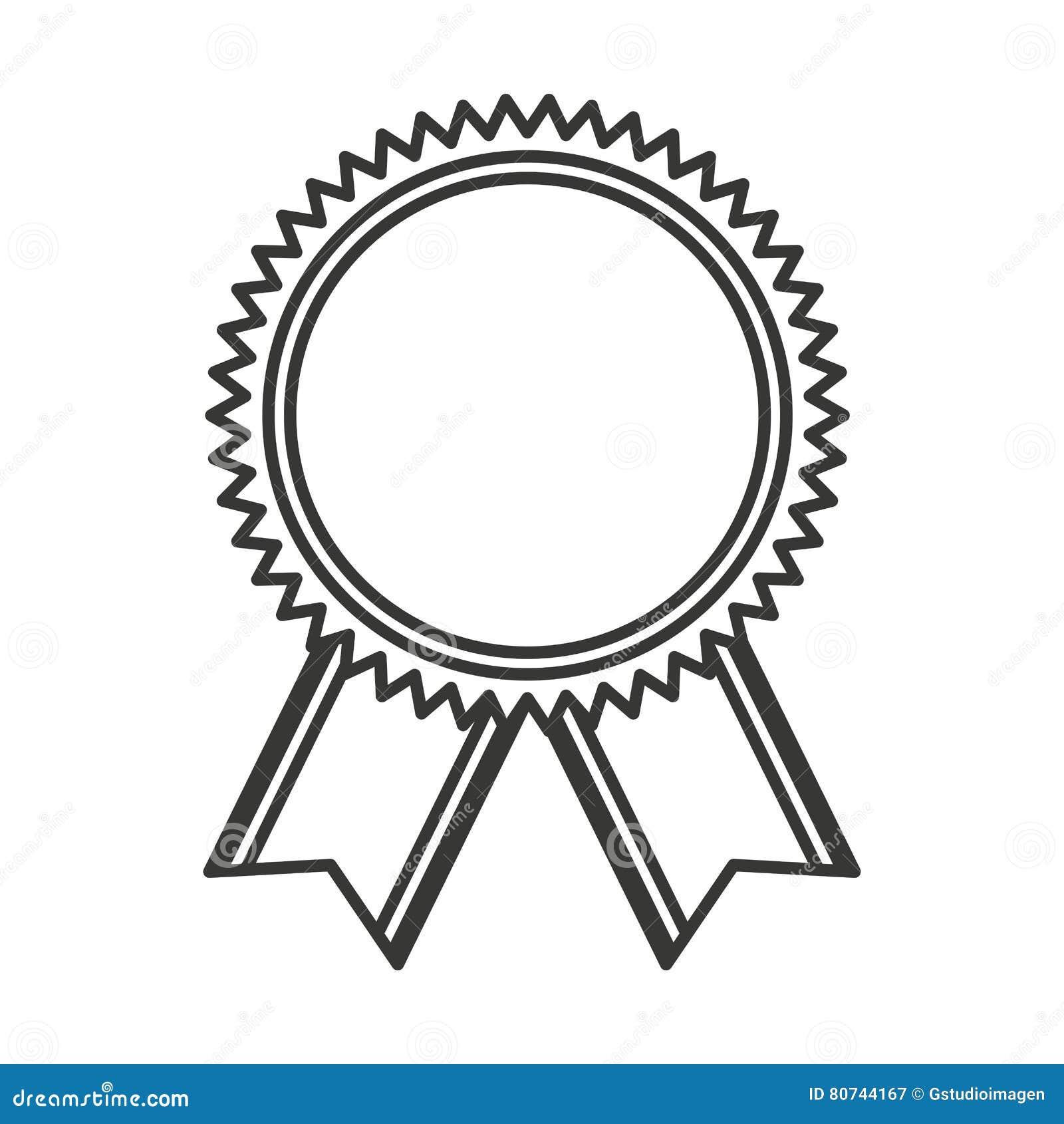 R compense de gagnant des prix de m daille illustration de vecteur illustration du r ussite - Dessiner un ruban ...
