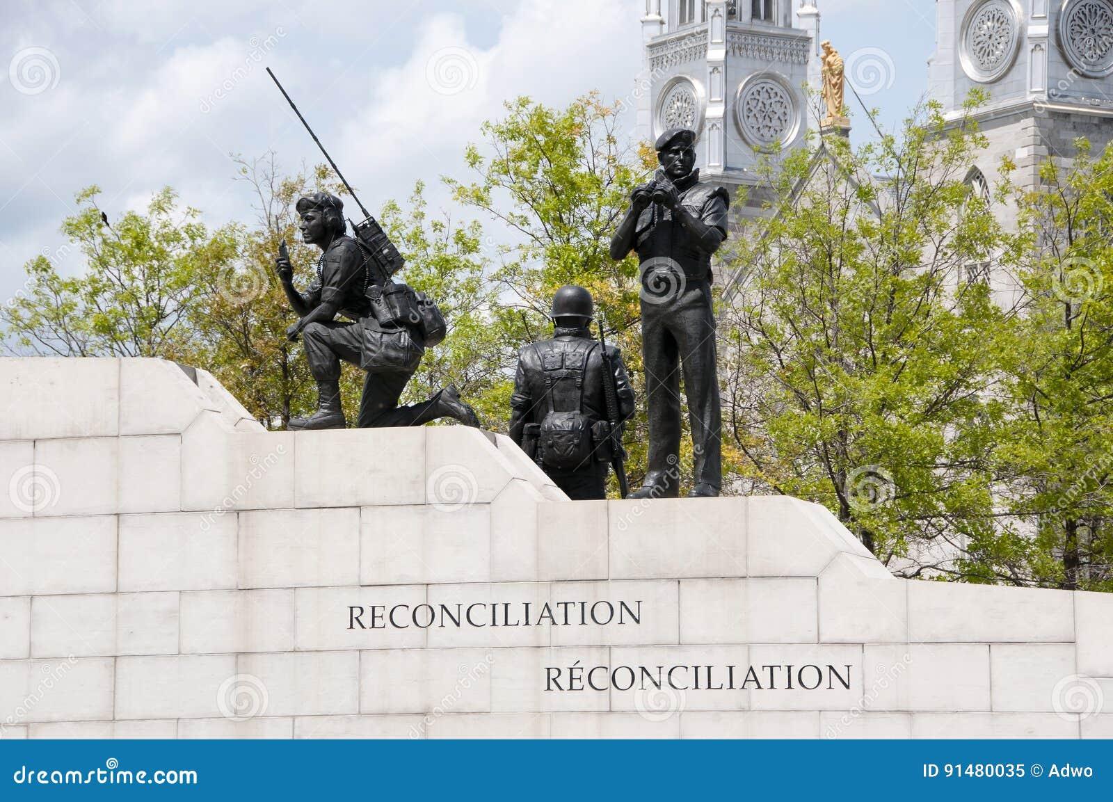 Réconciliation : Le monument de maintien de la paix - Ottawa - Canada
