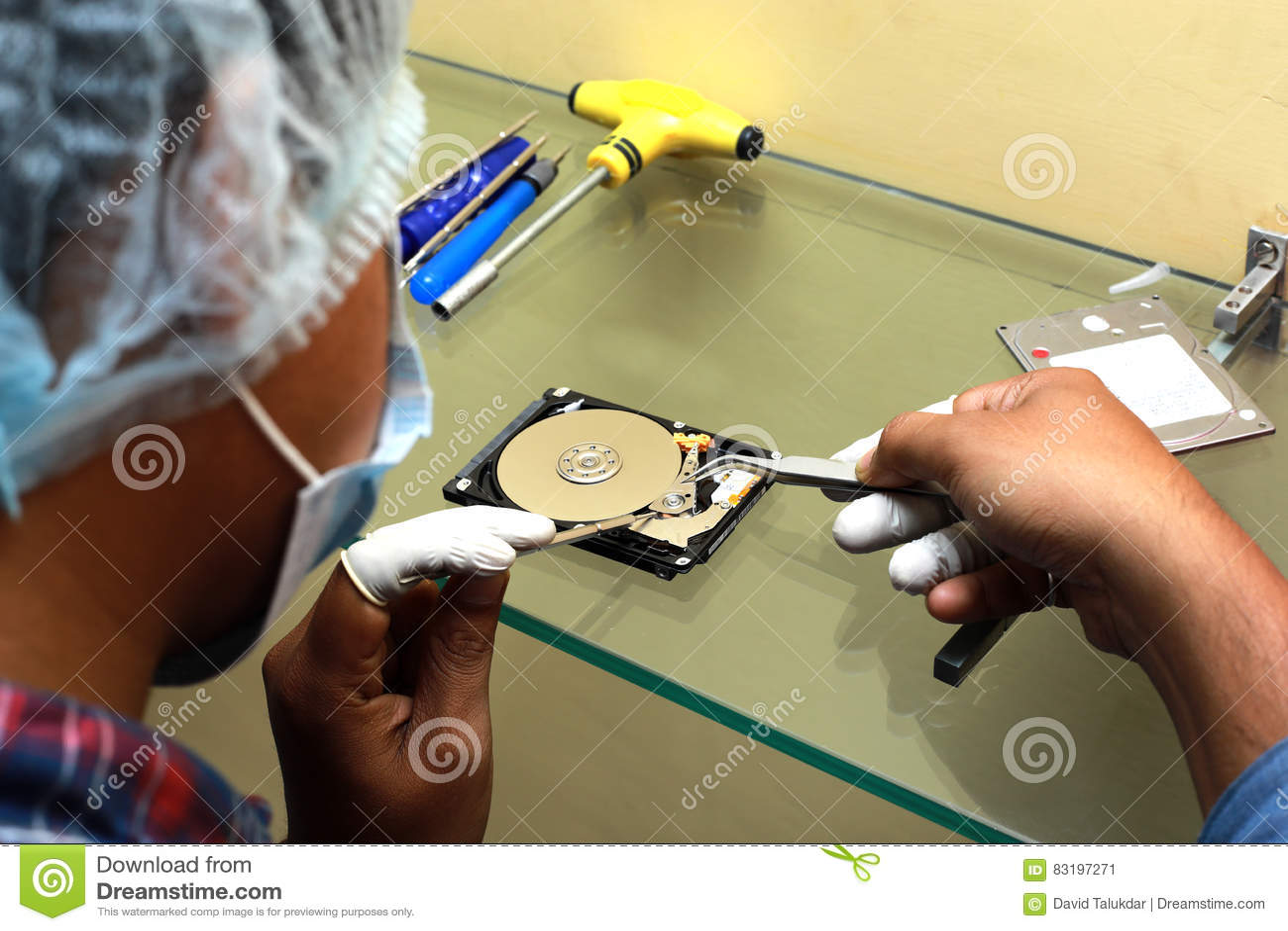 Récupération d unité de disque dur