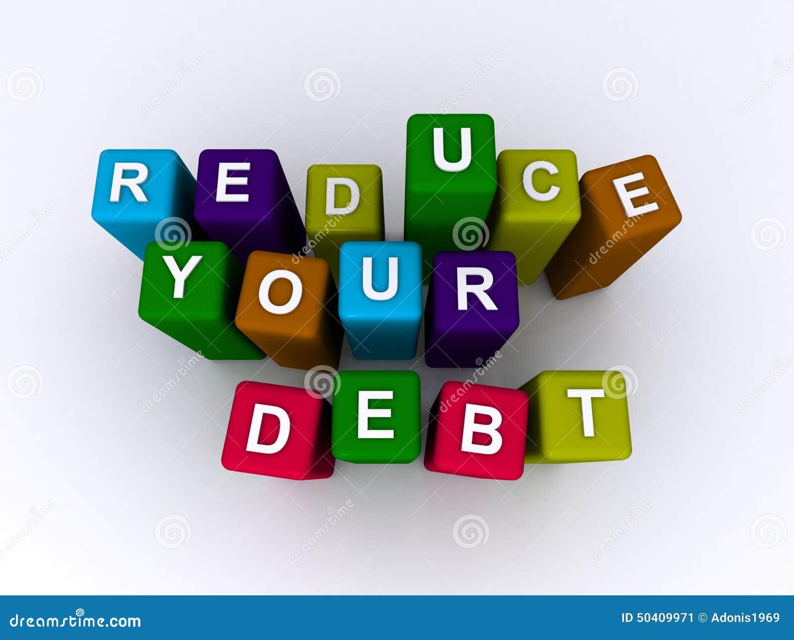 Réduisez votre dette