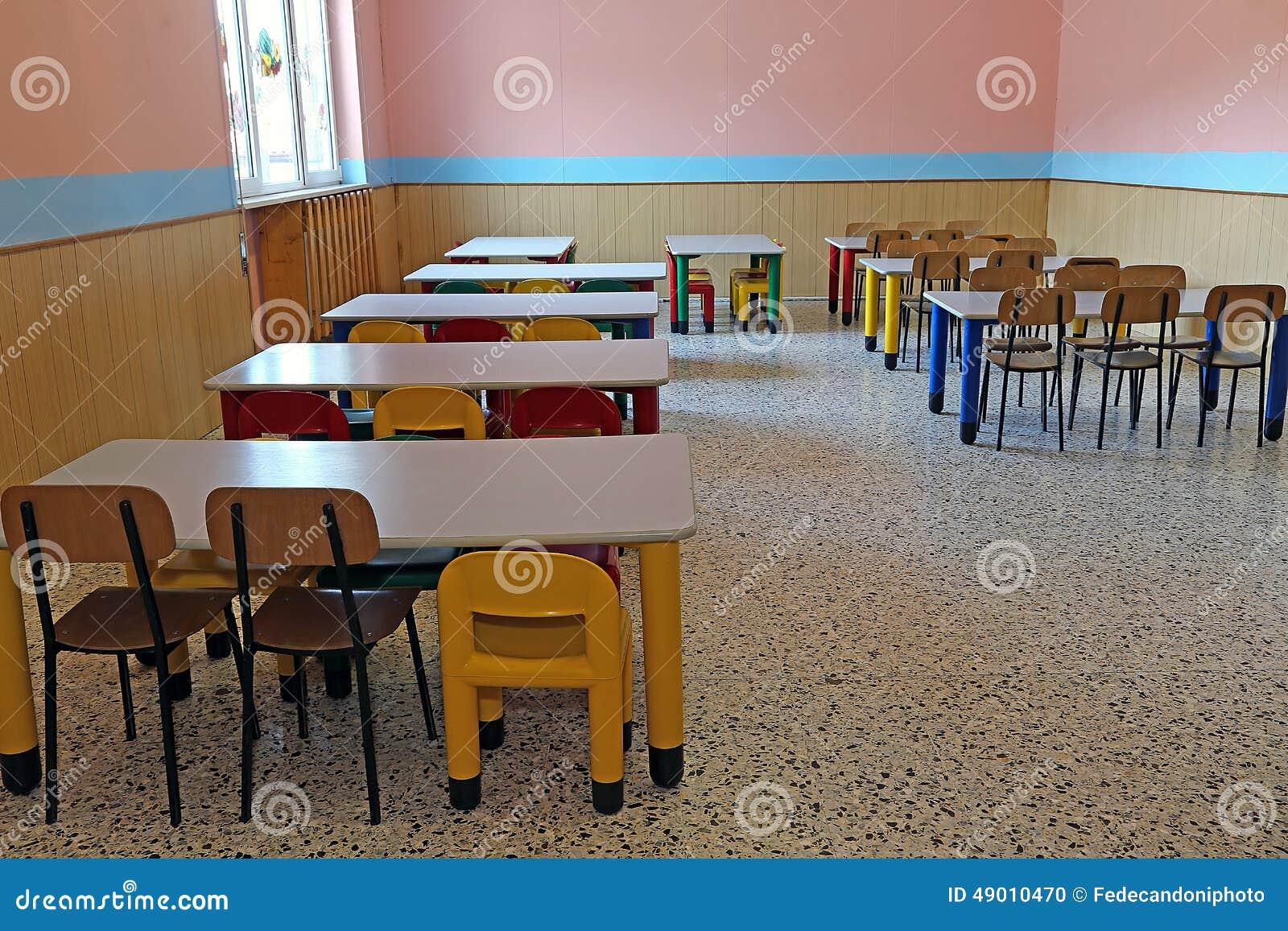 R Fectoire De Jardin D 39 Enfants Avec De Petites Tables Et