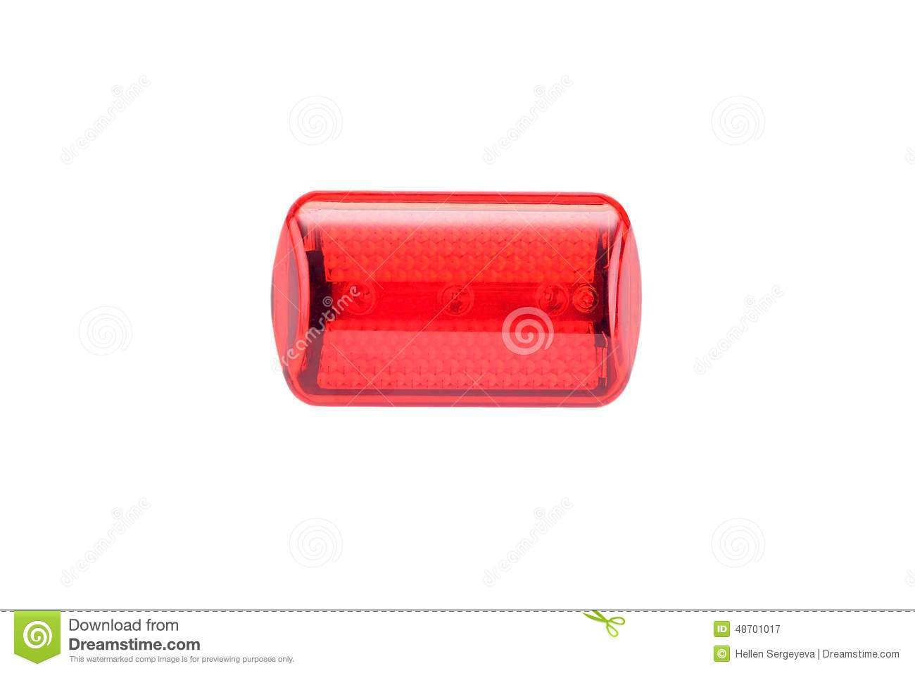 R flecteur de v lo de lumi re rouge photo stock image 48701017 - Reflecteur de lumiere ...