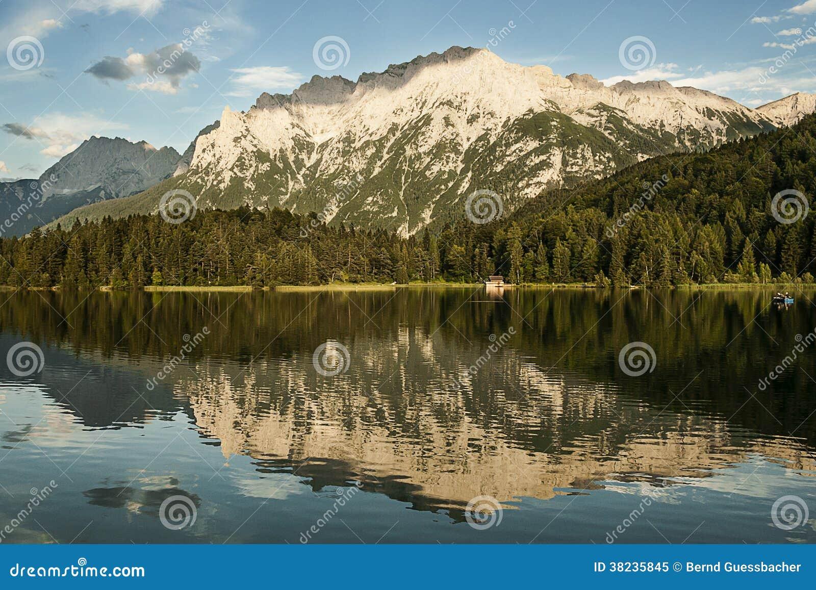 Réflexion de lac mountain