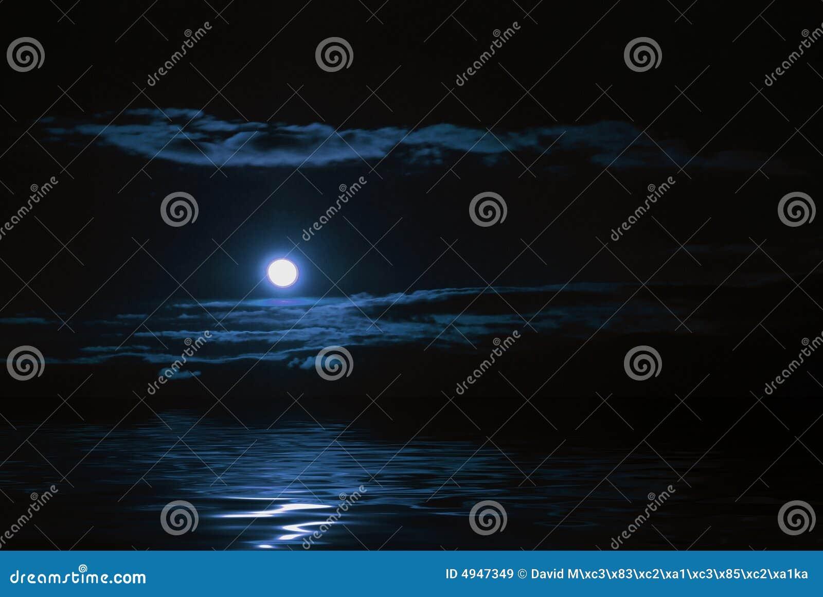 Réflexion de lune