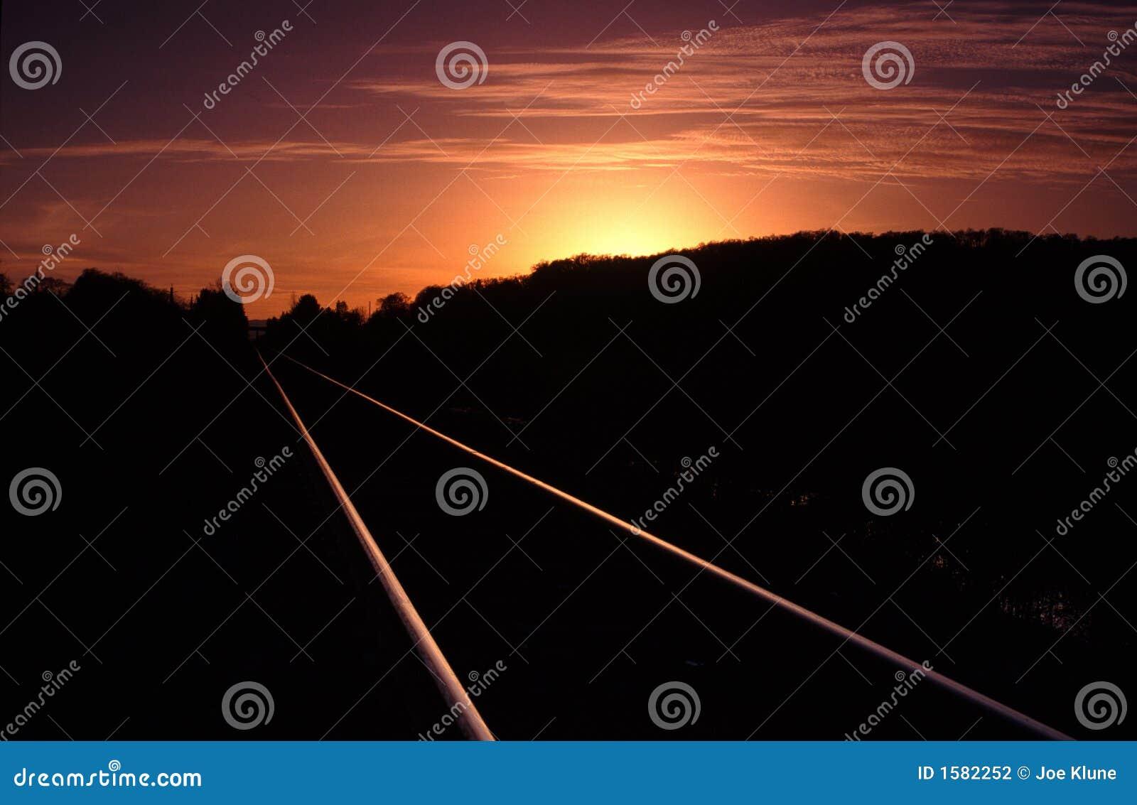 Réflexions de coucher du soleil