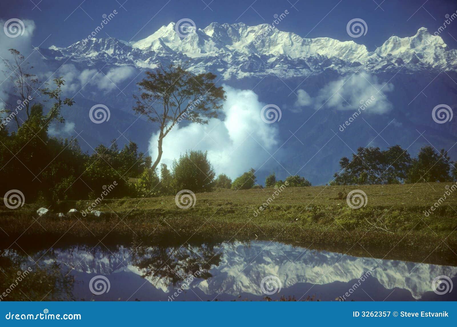 Réflexions en haute montagne