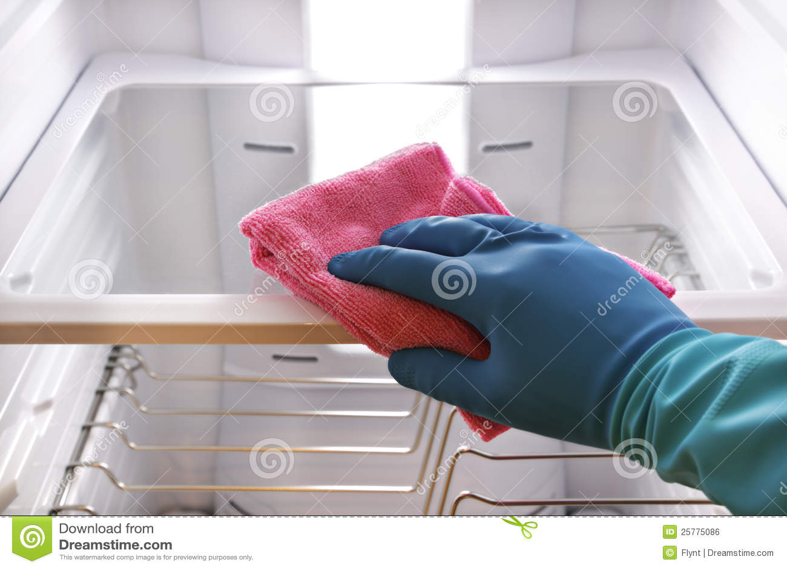 Réfrigérateur de nettoyage de main