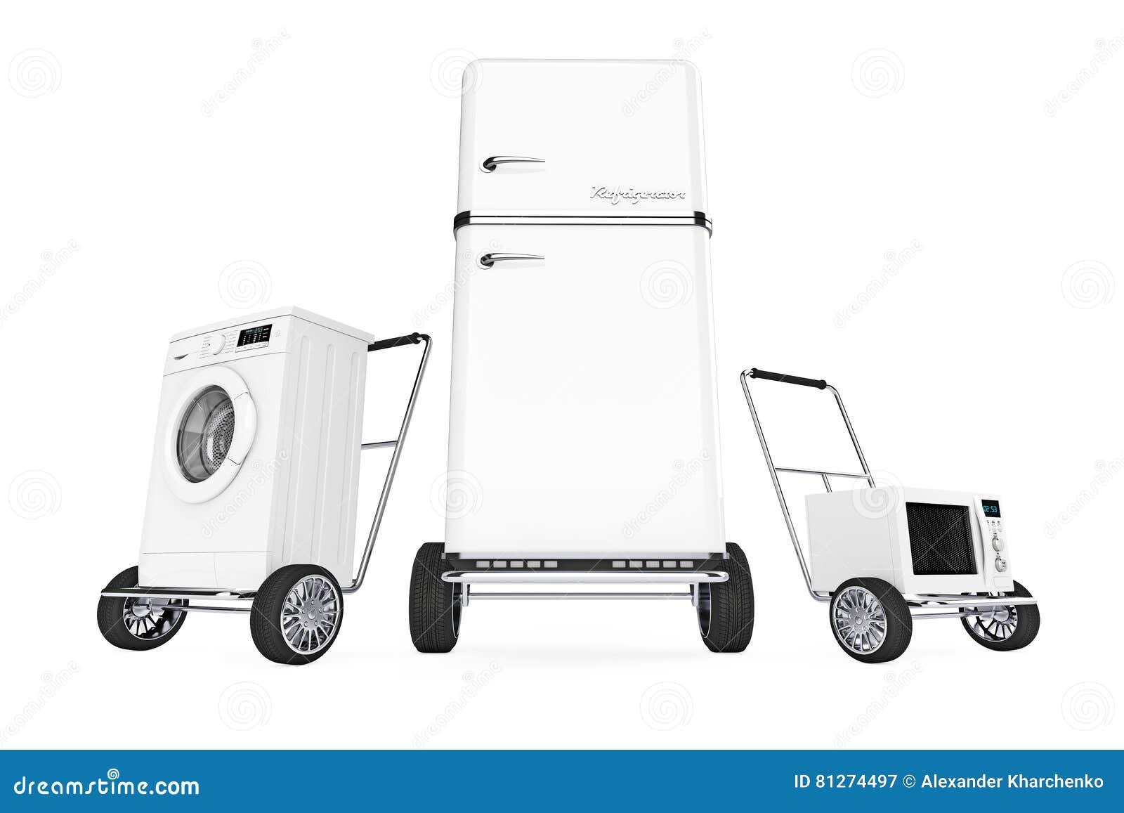 Etagere Dessus Micro Onde réfrigérateur, machine à laver et four à micro-ondes au