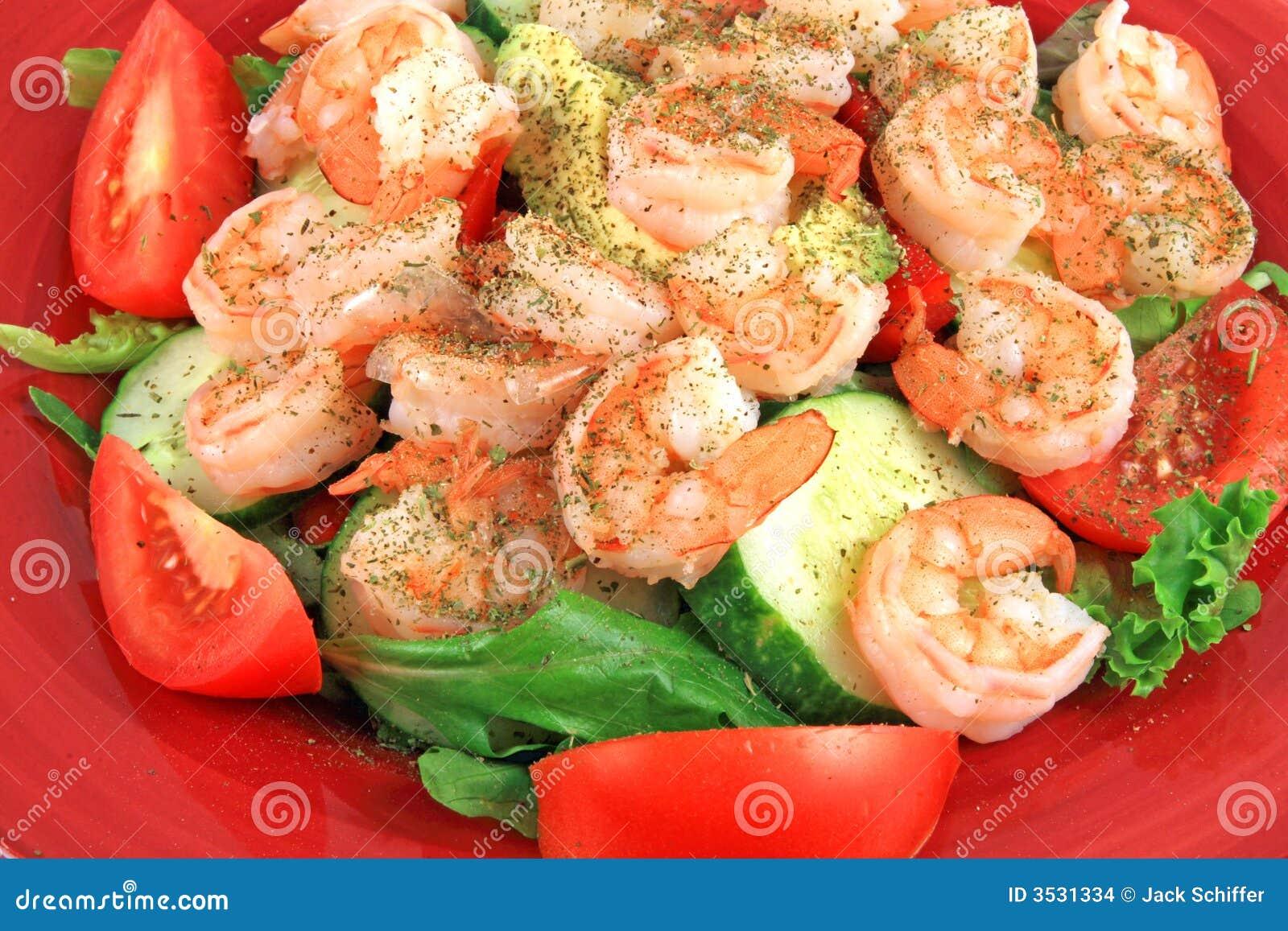 Régal de salade de crevette