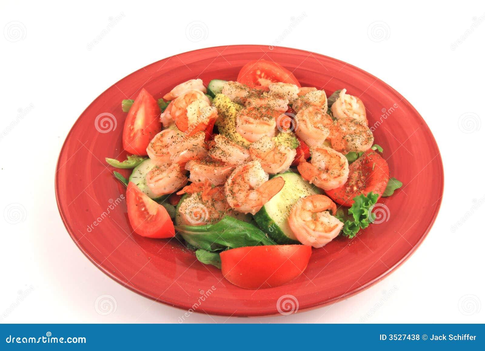 Régal de salade de fruits de mer