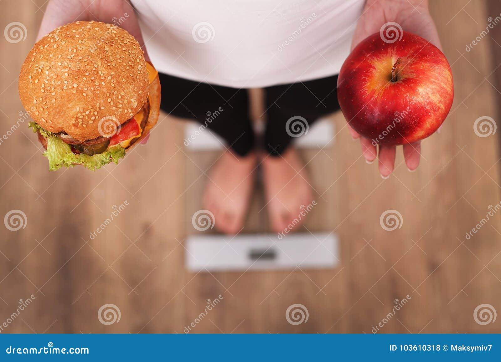 perdre du poids aide d hamburger