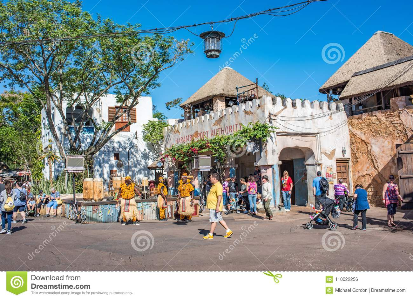 Région de l Afrique au règne animal chez Walt Disney World
