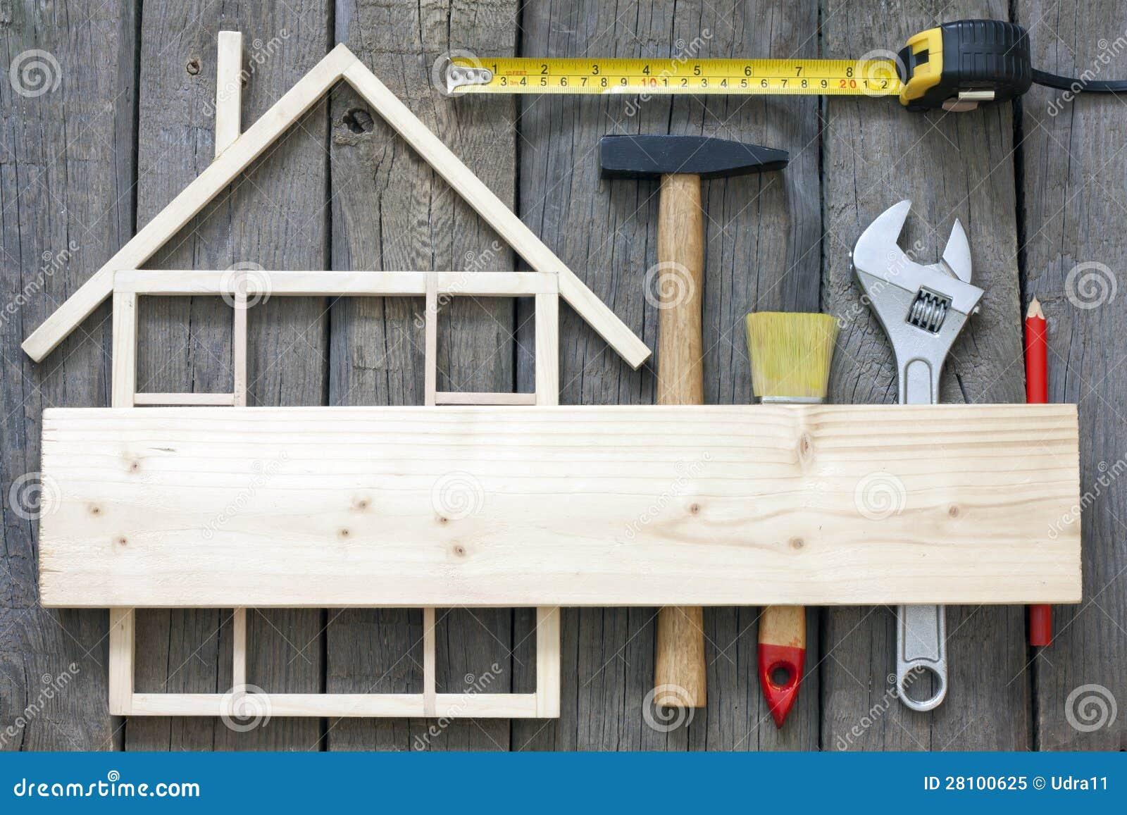 House Builder 3d R 233 Novation En Bois De Construction De Maison Photo Libre
