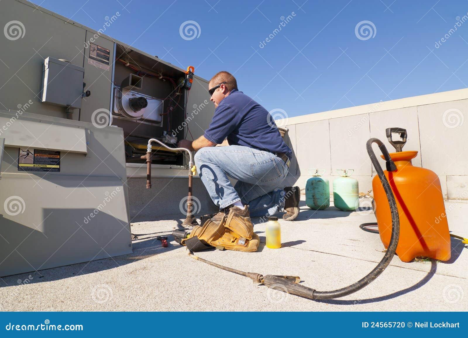 Réparation de climatiseur