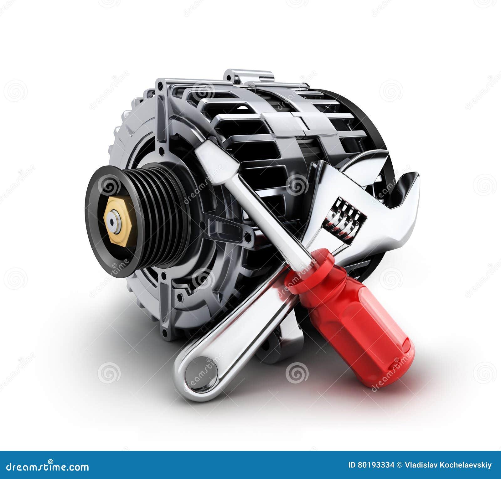 Réparation de générateur de voiture