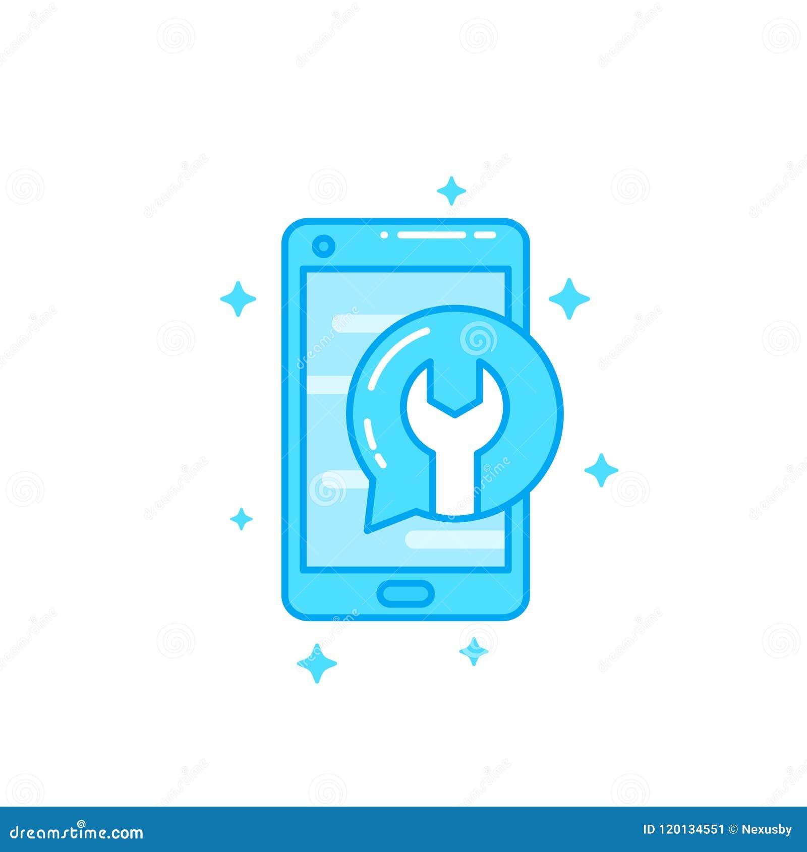 Réparation De Téléphone Icône De Vecteur De Récupération