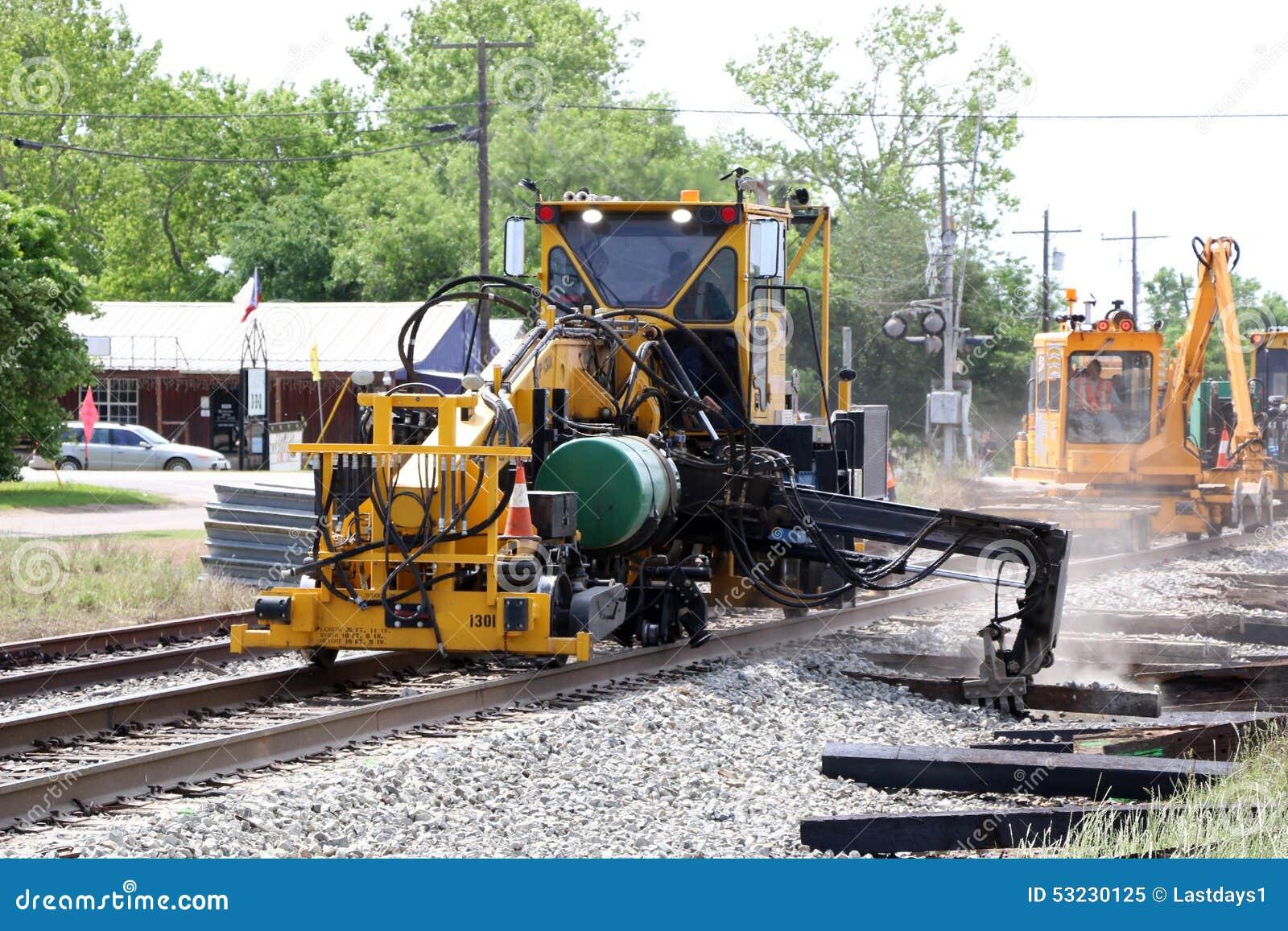 Réparation de voie ferrée