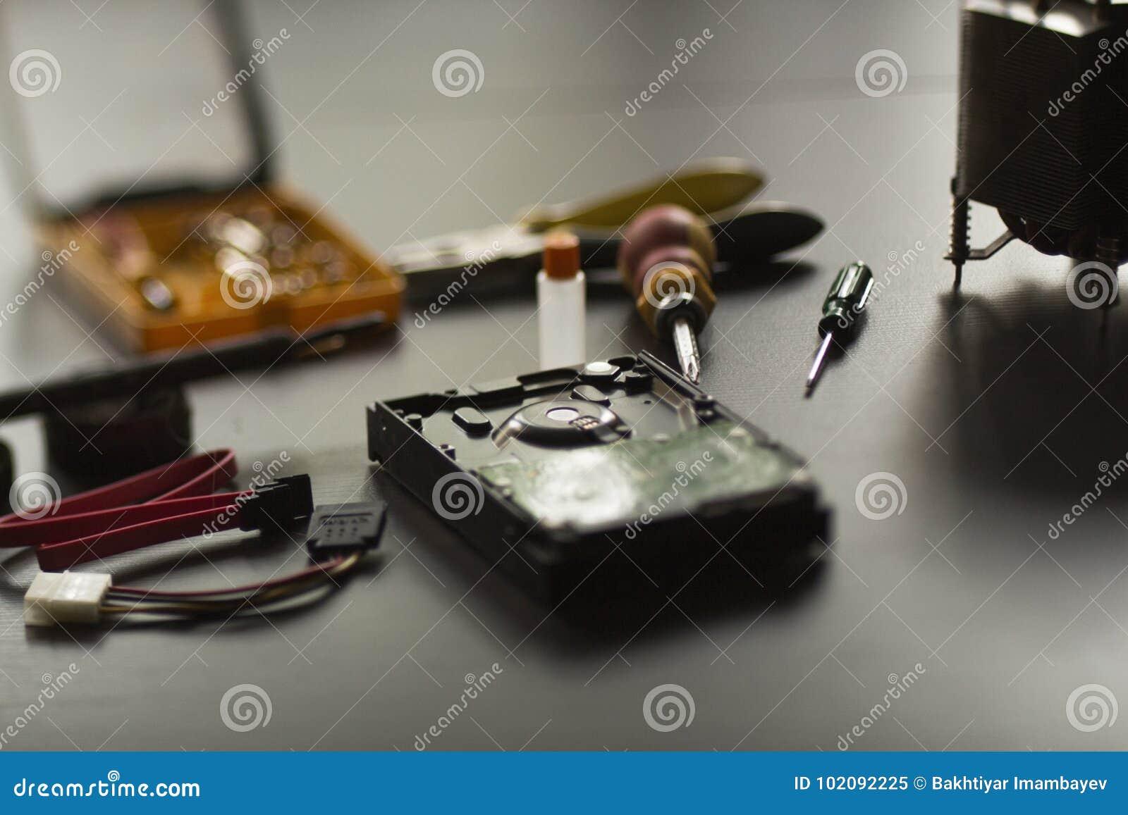 Réparation dure de disque