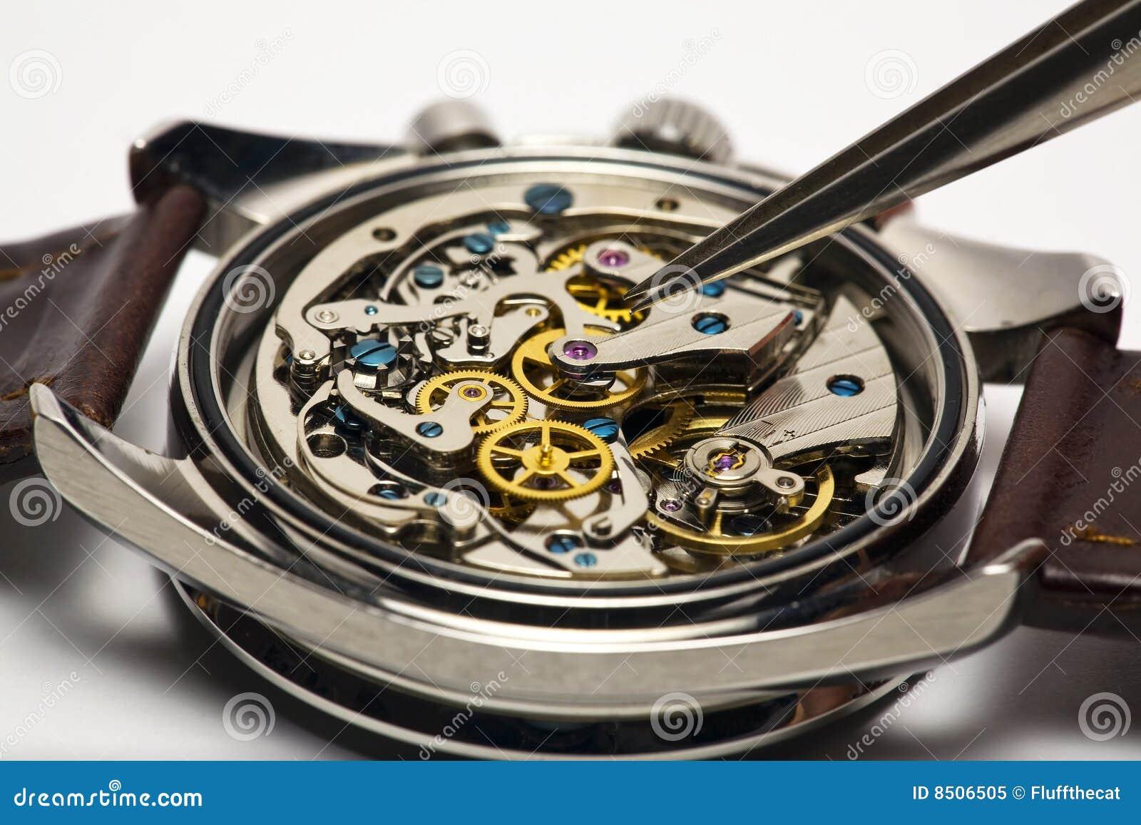 Réparation moderne de montre