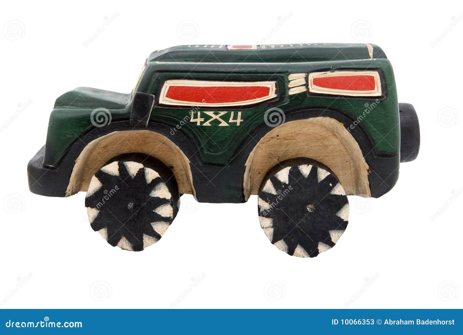 Réplica de madeira do brinquedo