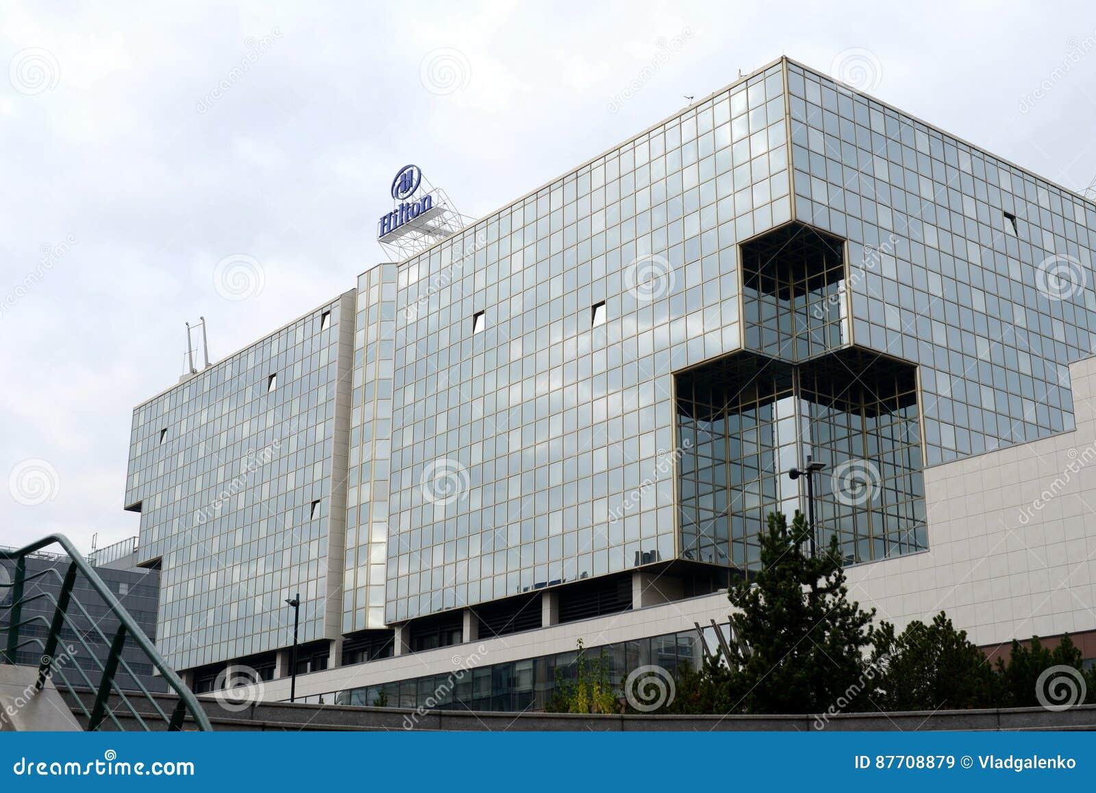République Tchèque l Europe de Prague de secteur de Hilton Karlin d hôtel