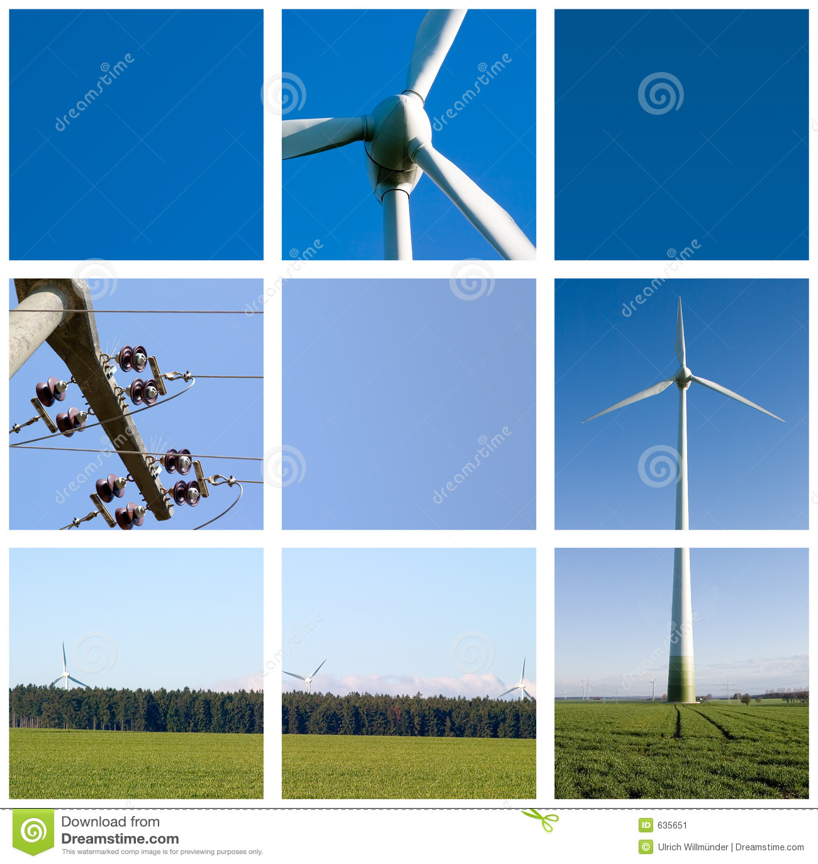 Réseau d énergie éolienne