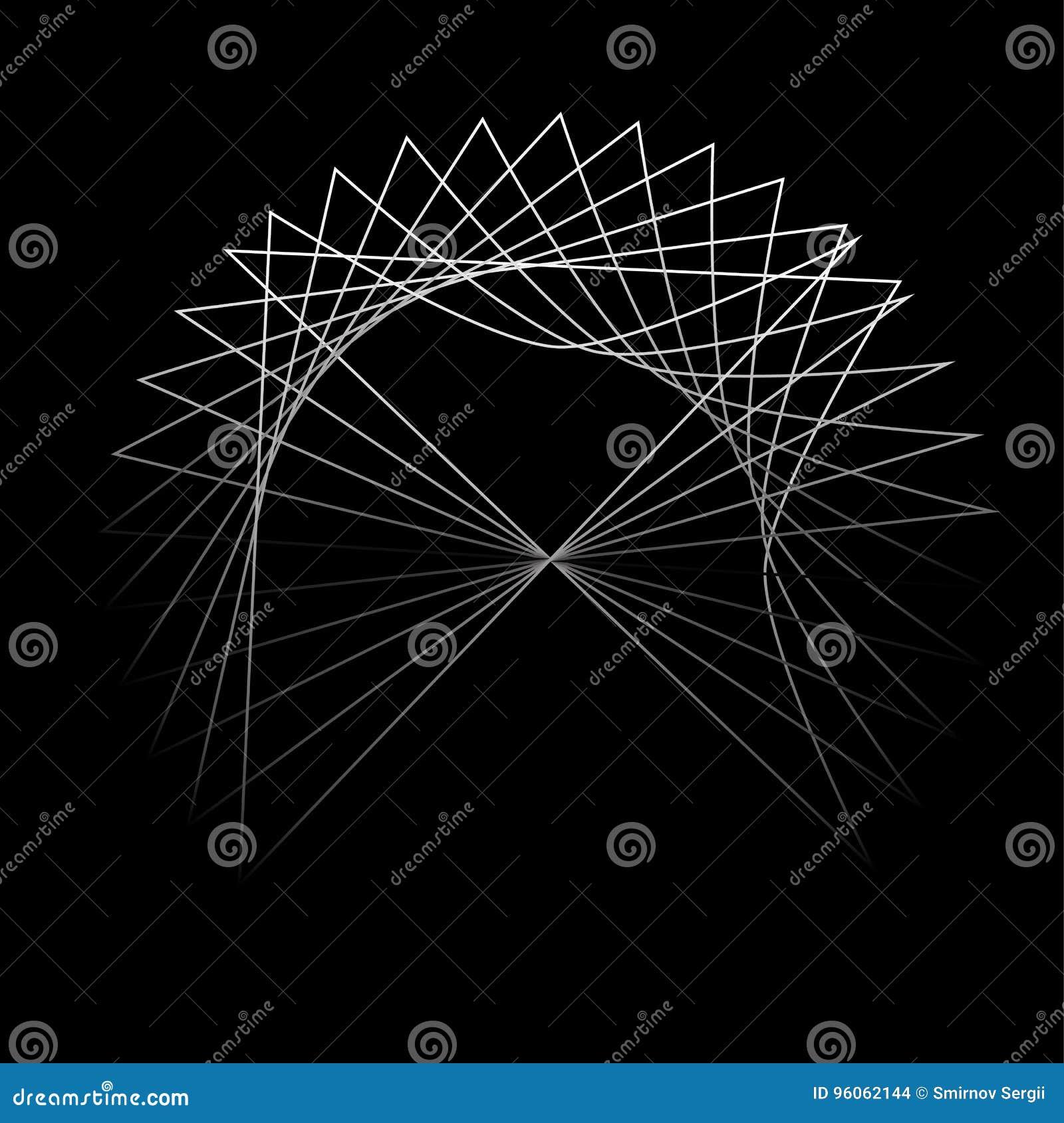 Réseau de social d ADN de composés chimiques d atomes et de molécules