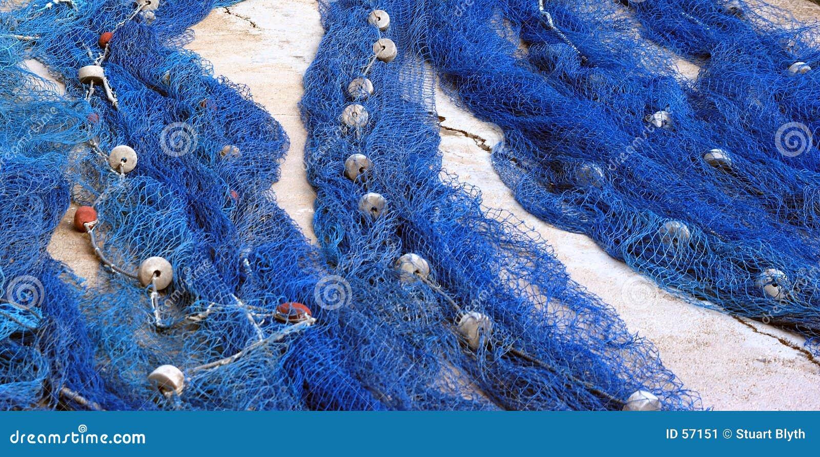 Download Réseaux image stock. Image du loquet, poissons, quai, côte - 57151