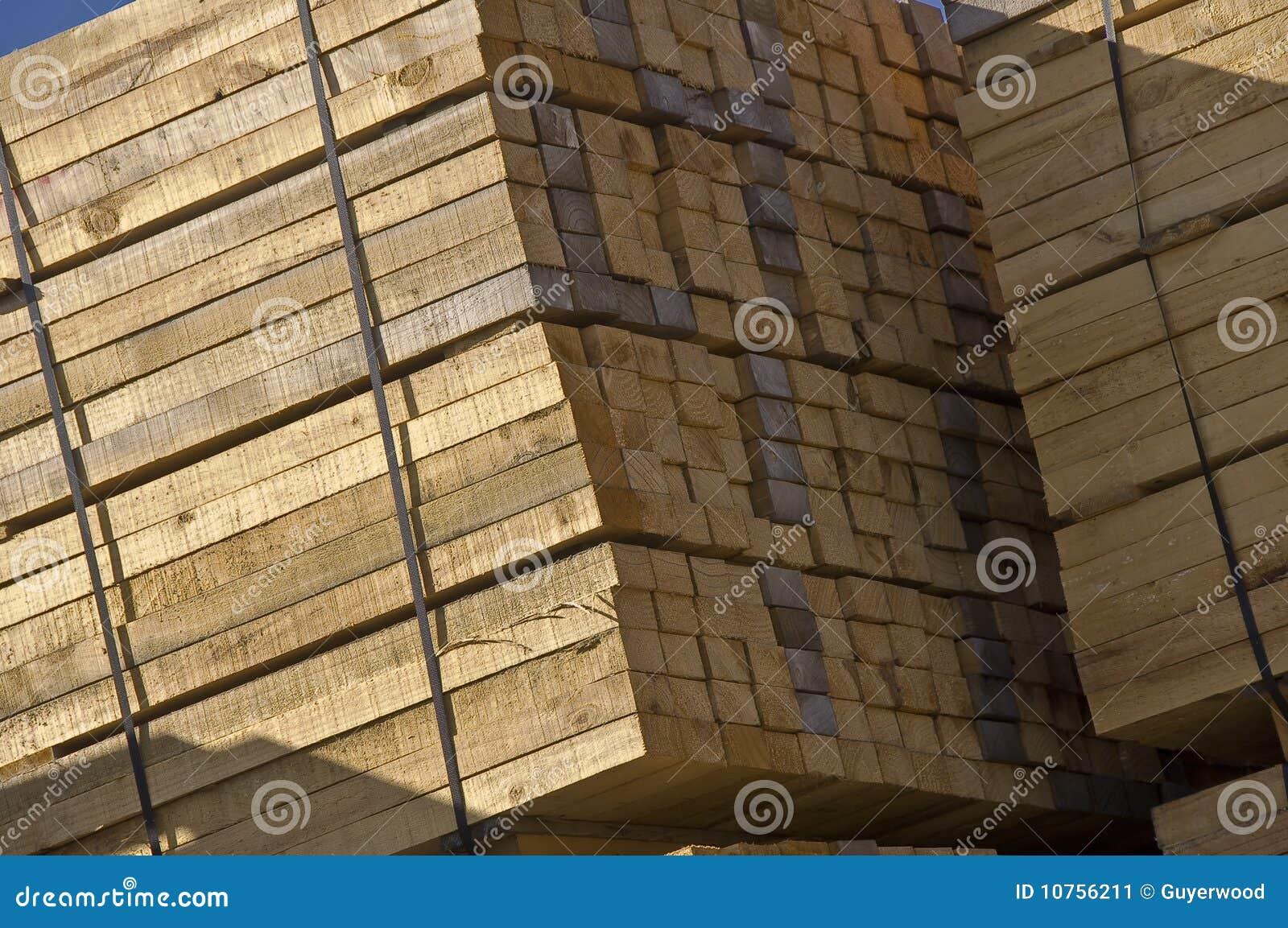 Réserve en bois