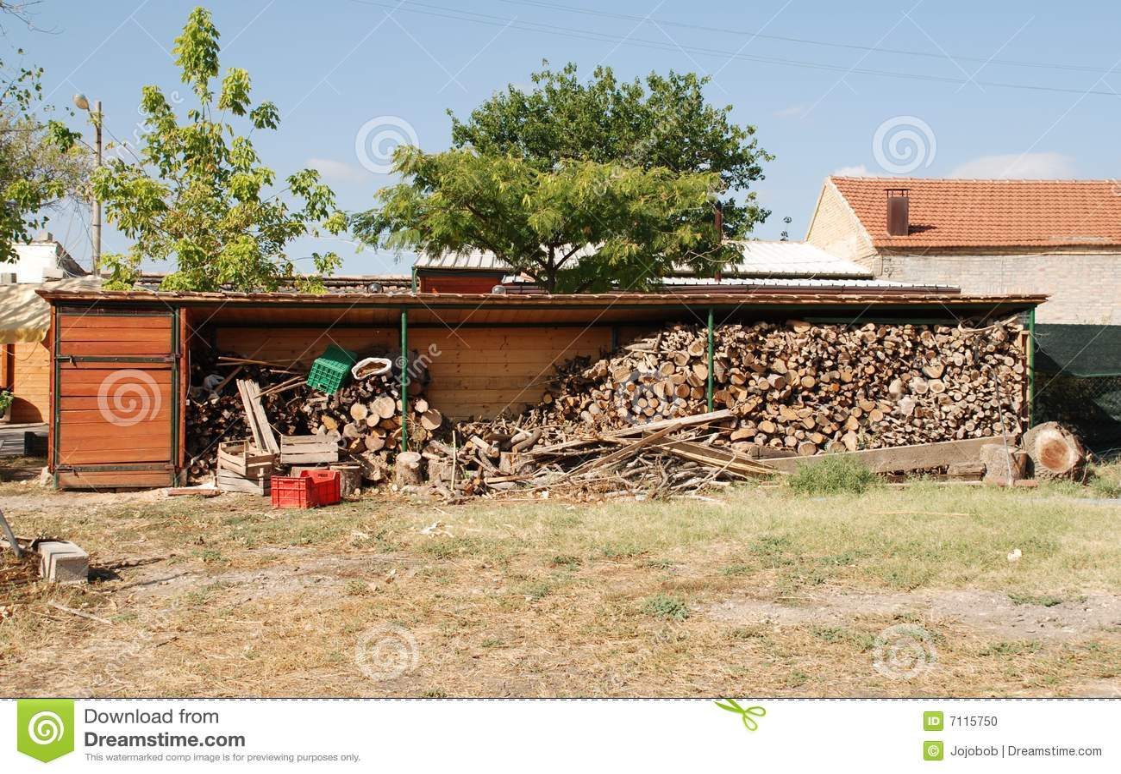 r serve en bois de ferme photo stock image 7115750. Black Bedroom Furniture Sets. Home Design Ideas