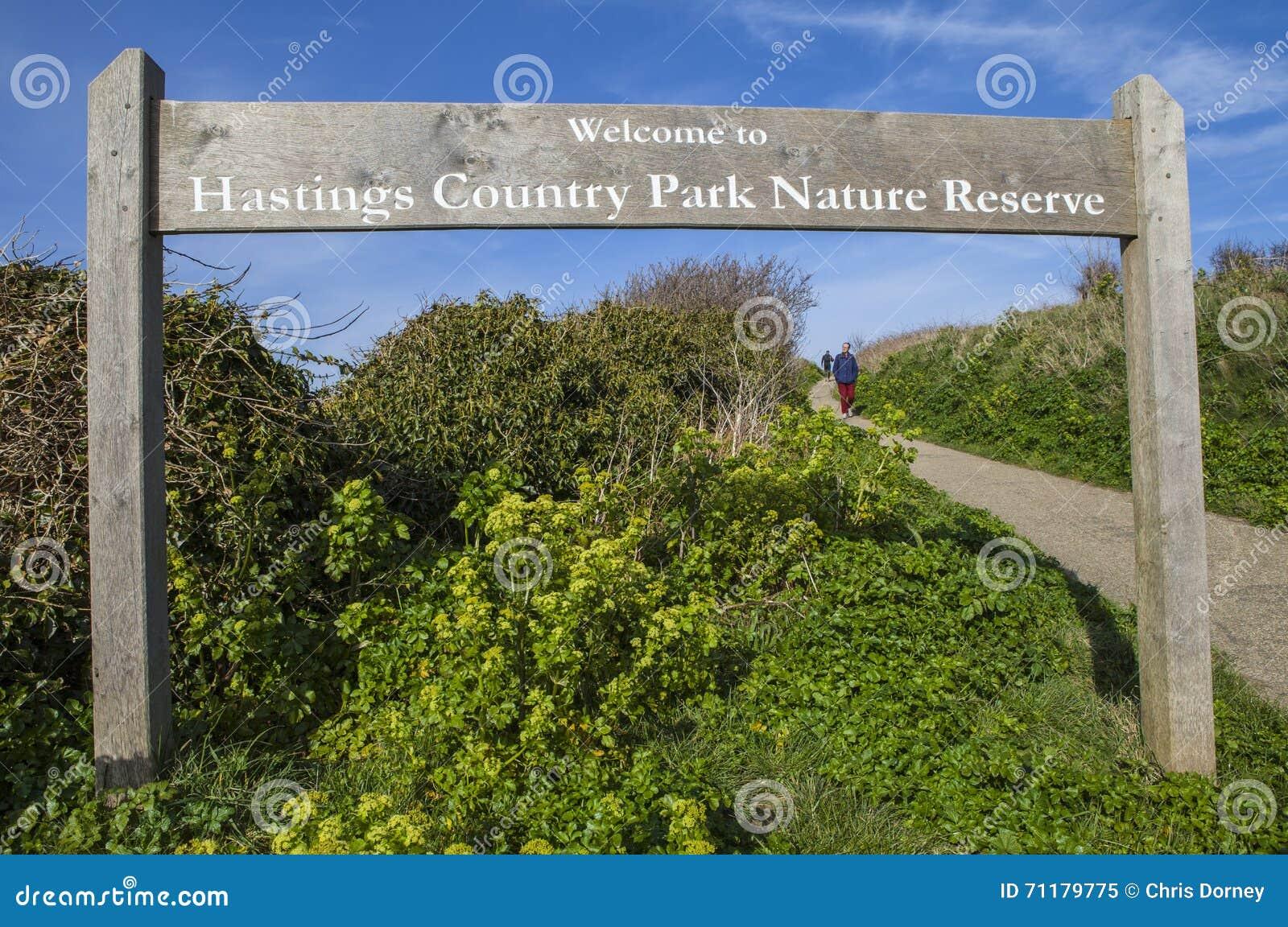 Réserve naturelle de parc de pays de Hastings