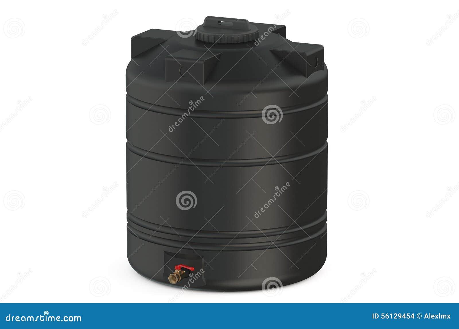 Réservoir d eau noir