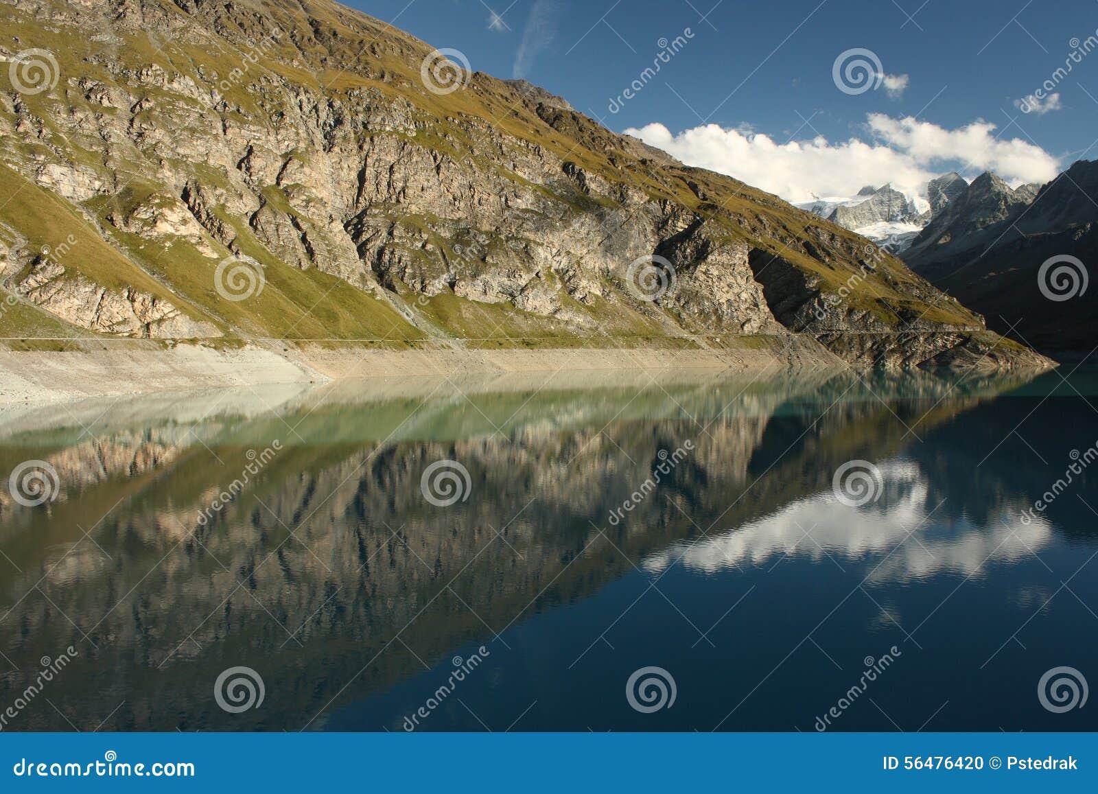 Réservoir de Barrage de Moiry